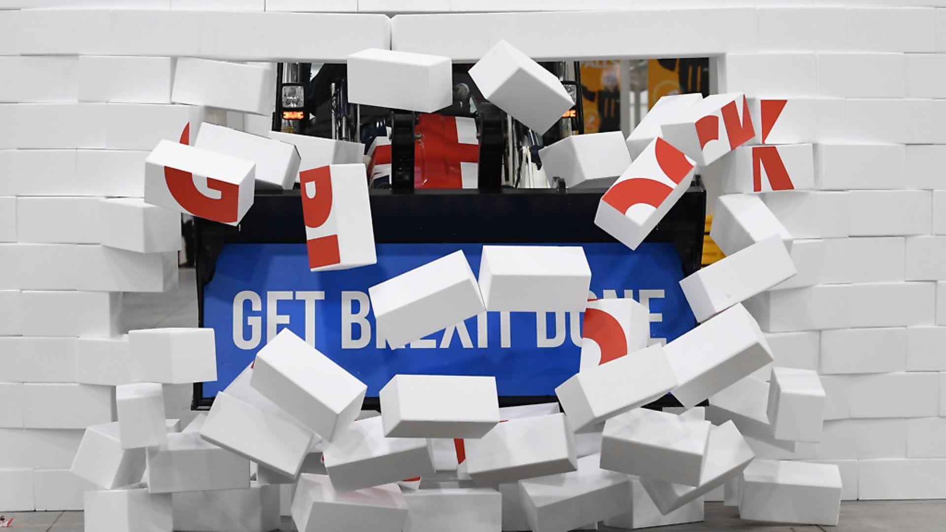 Get Brexit Done? Photograph: Stefan Rousseau/PA. - Credit: PA Wire/PA Images