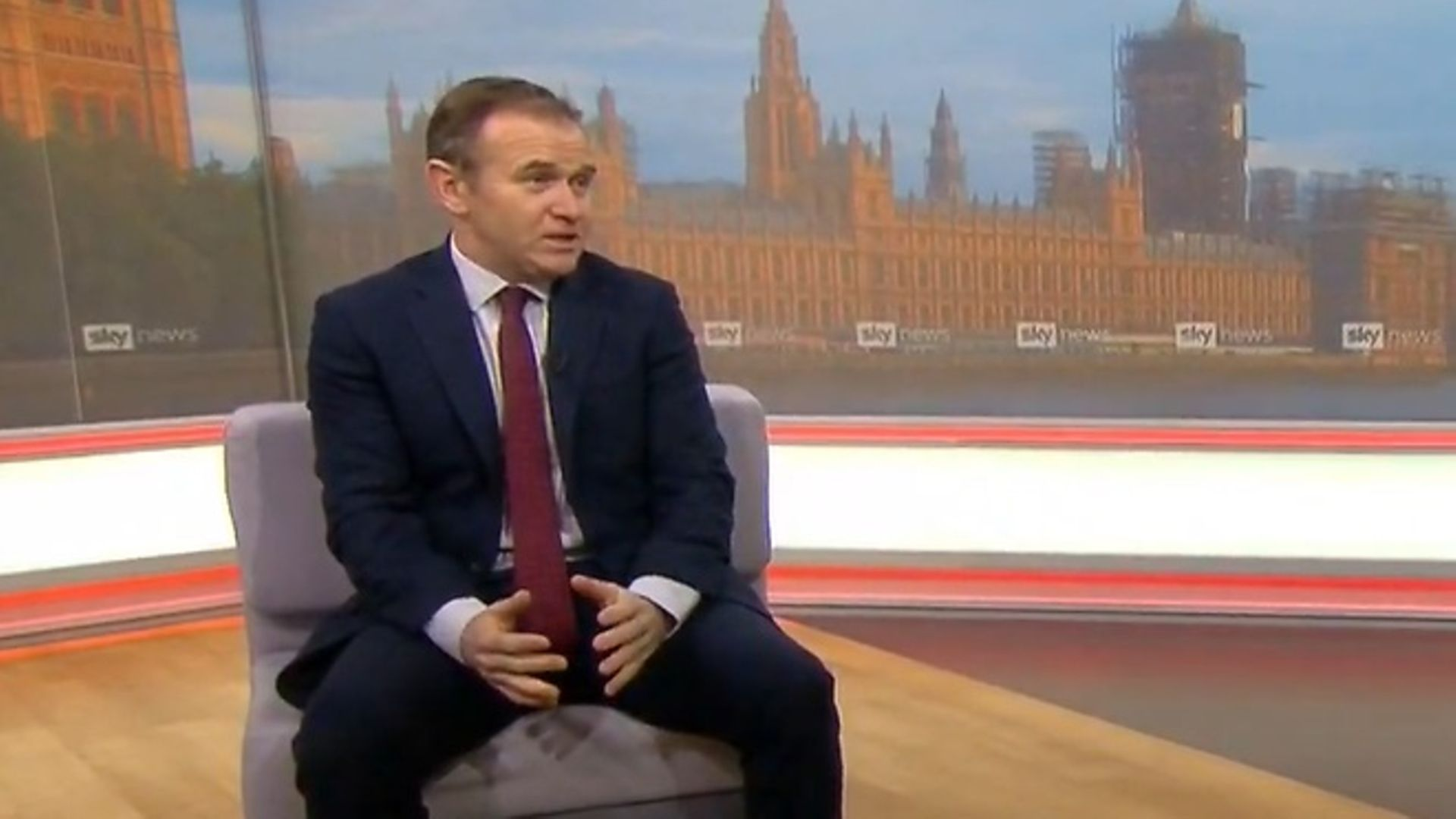 George Eustice answers questions on Brexit - Credit: Sky News