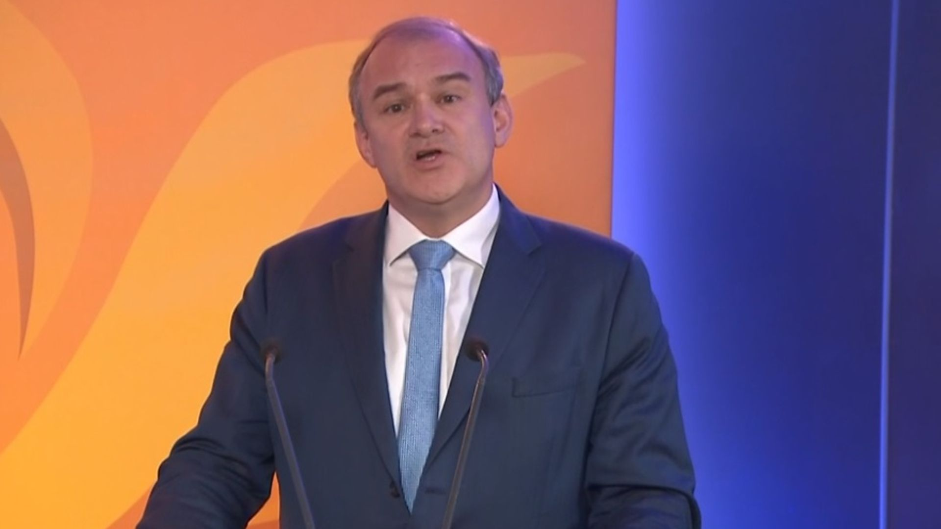 Ed Davey, the leader of the Liberal Democrats - Credit: BBC