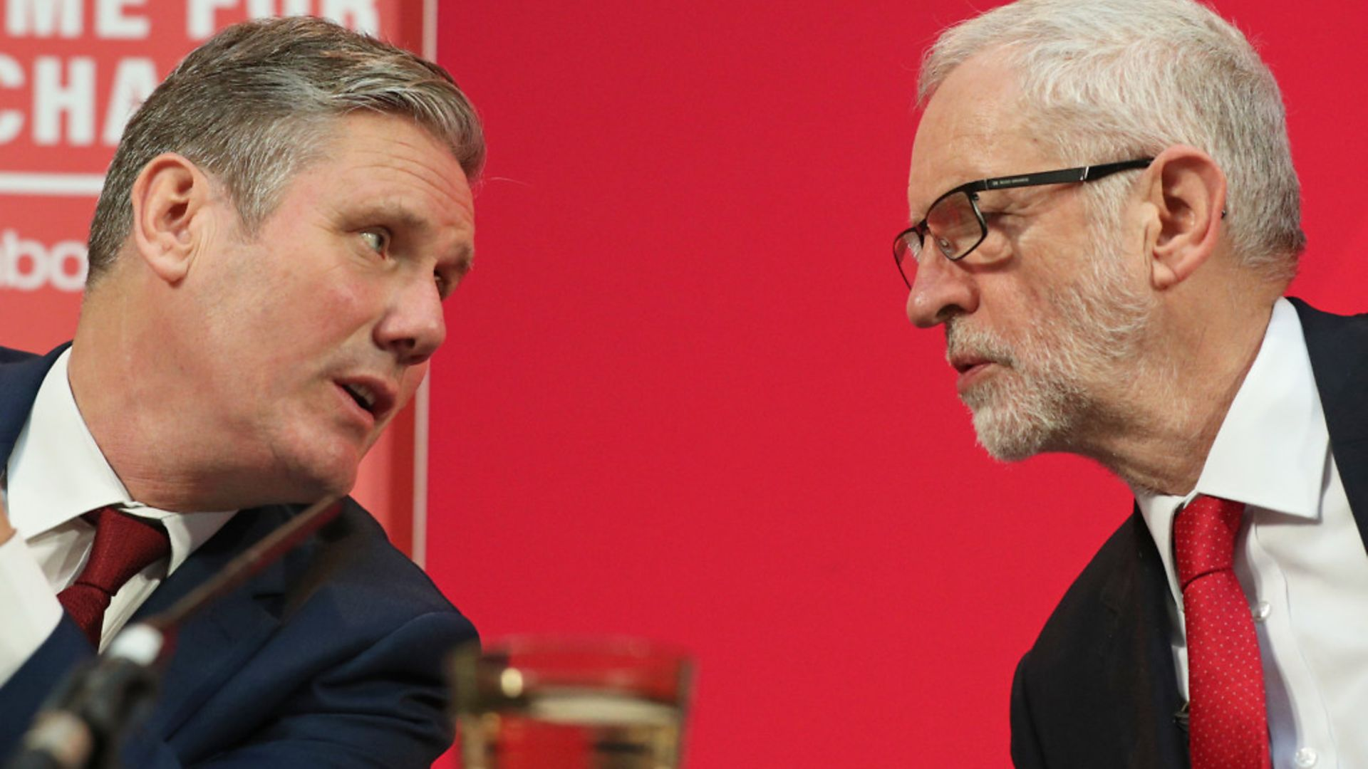 Then Labour Party leader Jeremy Corbyn, alongside his shadow Brexit secretary Keir Starmer - Credit: PA Wire/PA Images