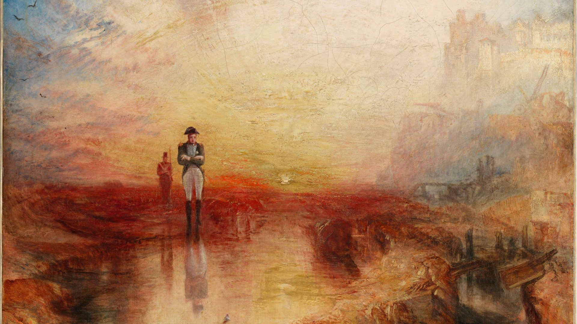 JMW Turner's War. The Exile and the Rock Limpet exhibited 1842. - Credit: Turner's Modern World