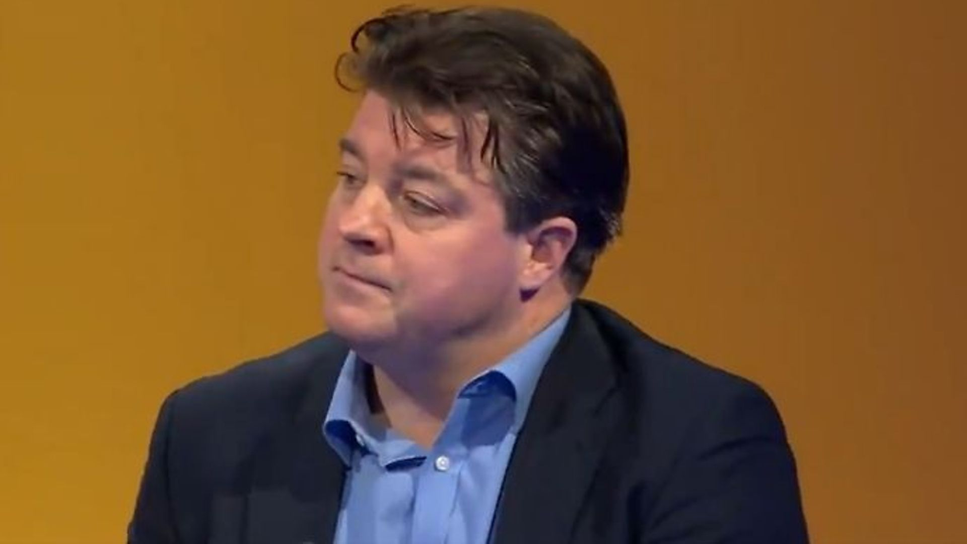 Liam Halligan on BBC 1's Question Time - Credit: Twitter