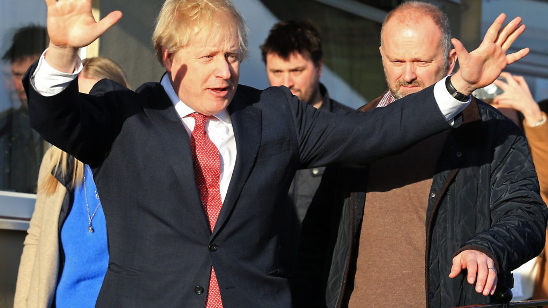 Boris Johnson after his election win in December 2019. Photograph: Lindsey Parnaby/PA. - Credit: PA Wire/PA Images