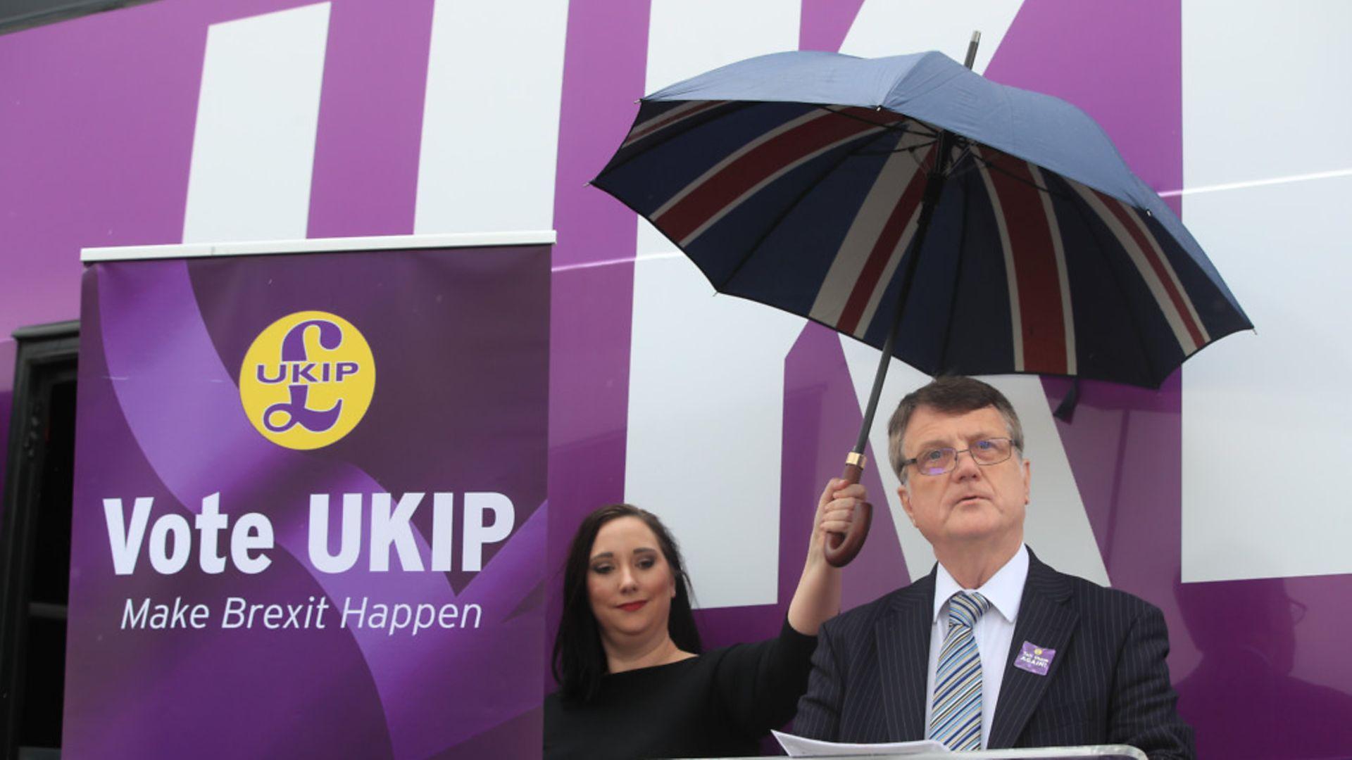 UKIP's Gerard Batten - Credit: PA Wire/PA Images