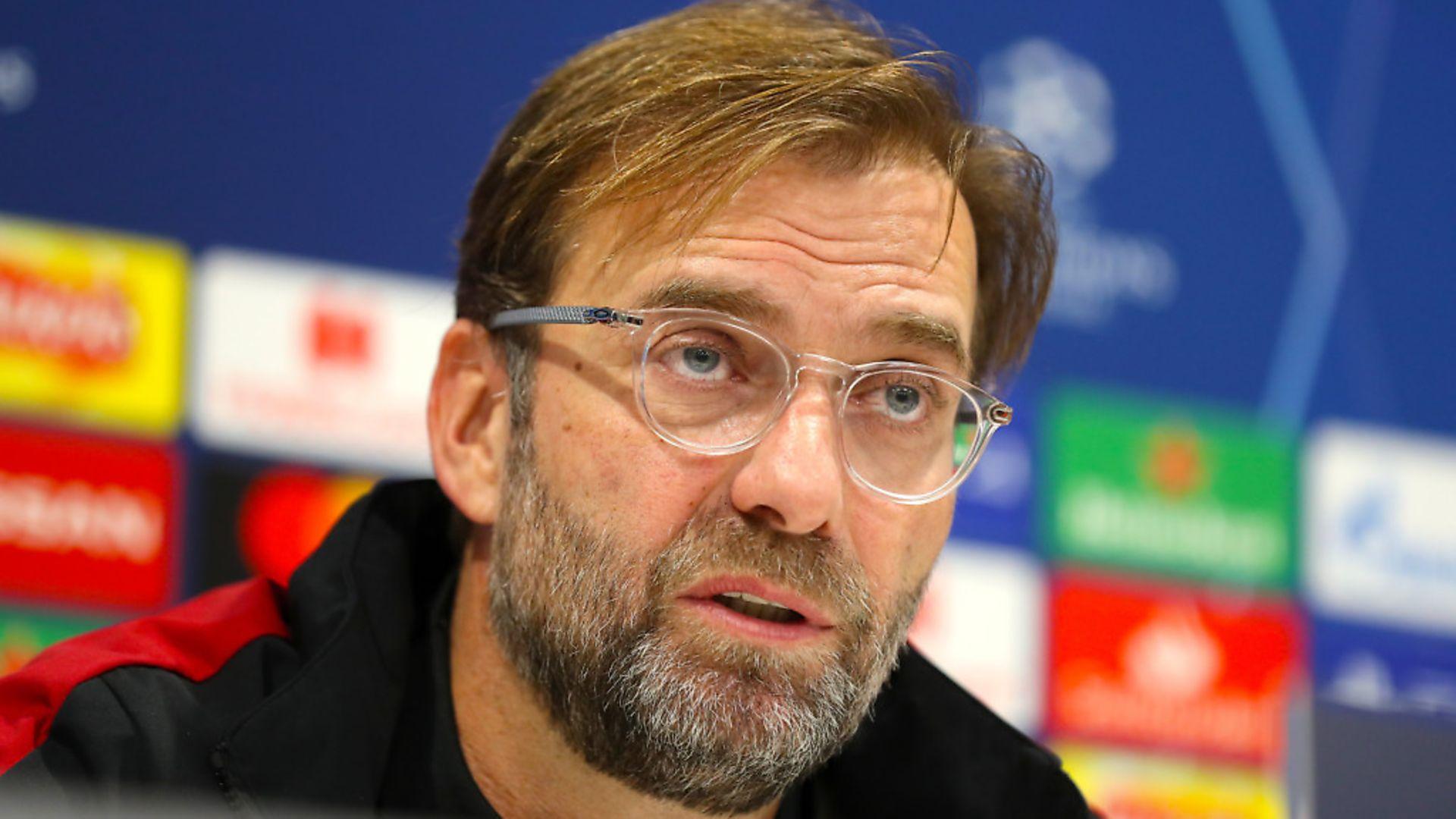 Liverpool manager Jurgen Klopp. Photograph: Martin Rickett/PA. - Credit: PA Wire/PA Images