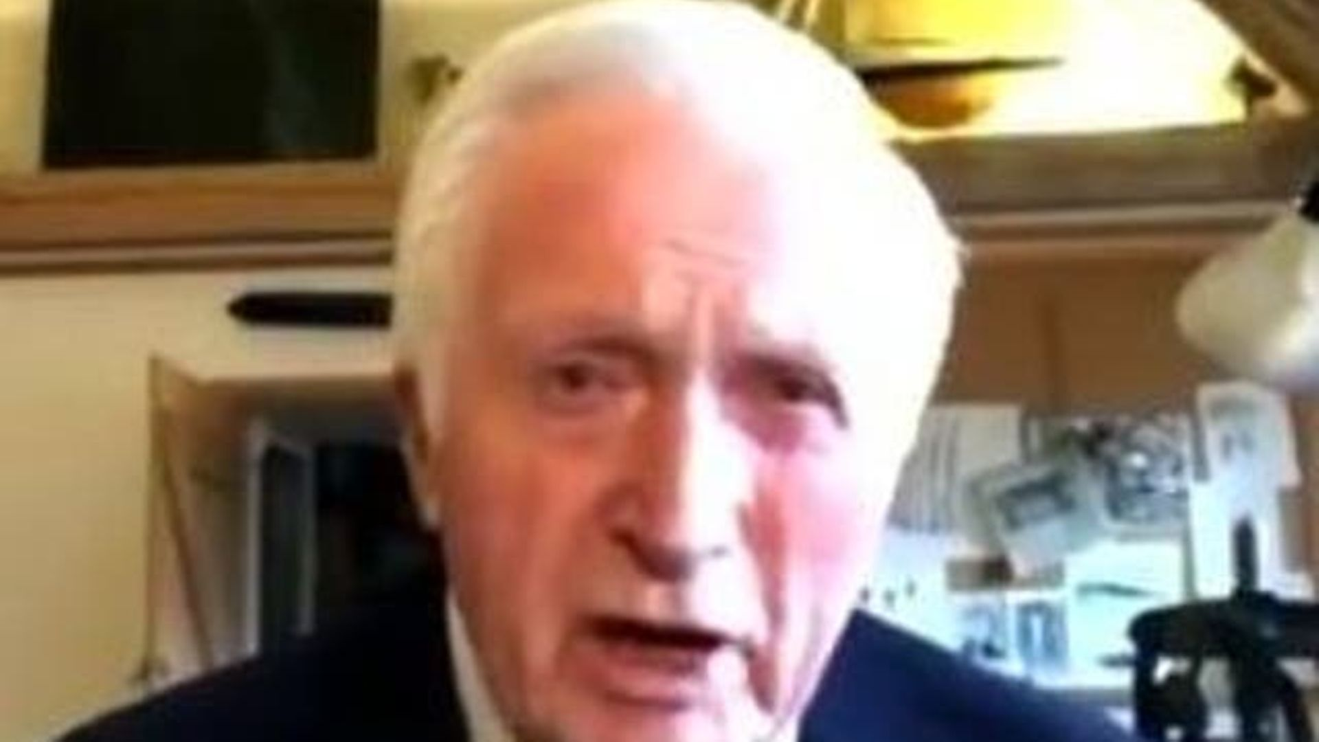Former Question Time presenter David Dimbleby - Credit: Channel 4