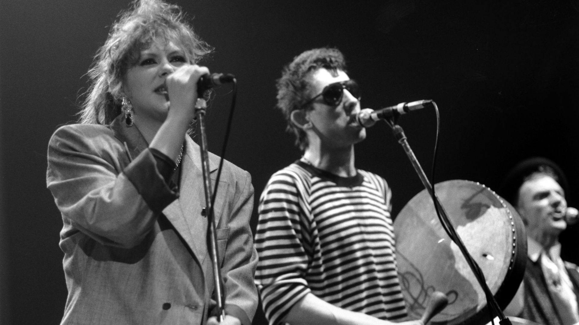 Kirsty MacColl and Shane MacGowan - Credit: Getty Images