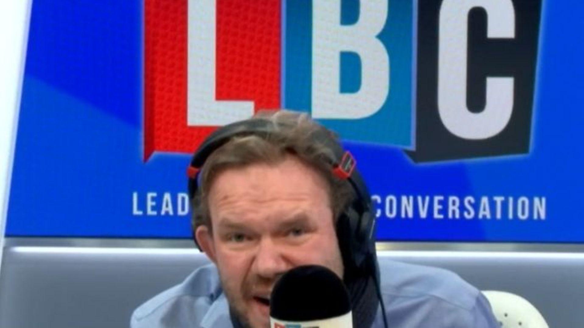 LBC radio host James O'Brien - Credit: LBC