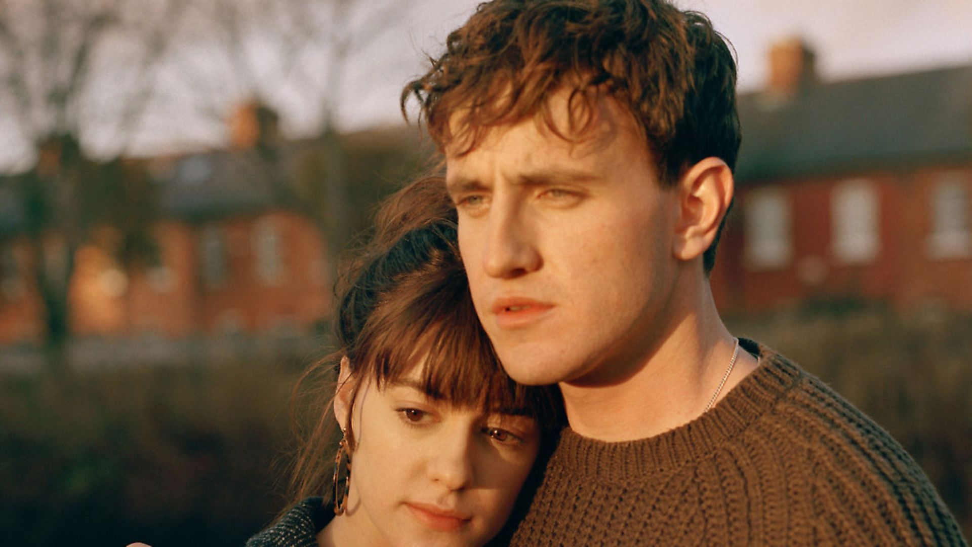 Daisy Edgar Jones and Paul Mescal in BBC drama Normal People. Picture: BBC - Credit: BBC/Element Pictures/Hulu
