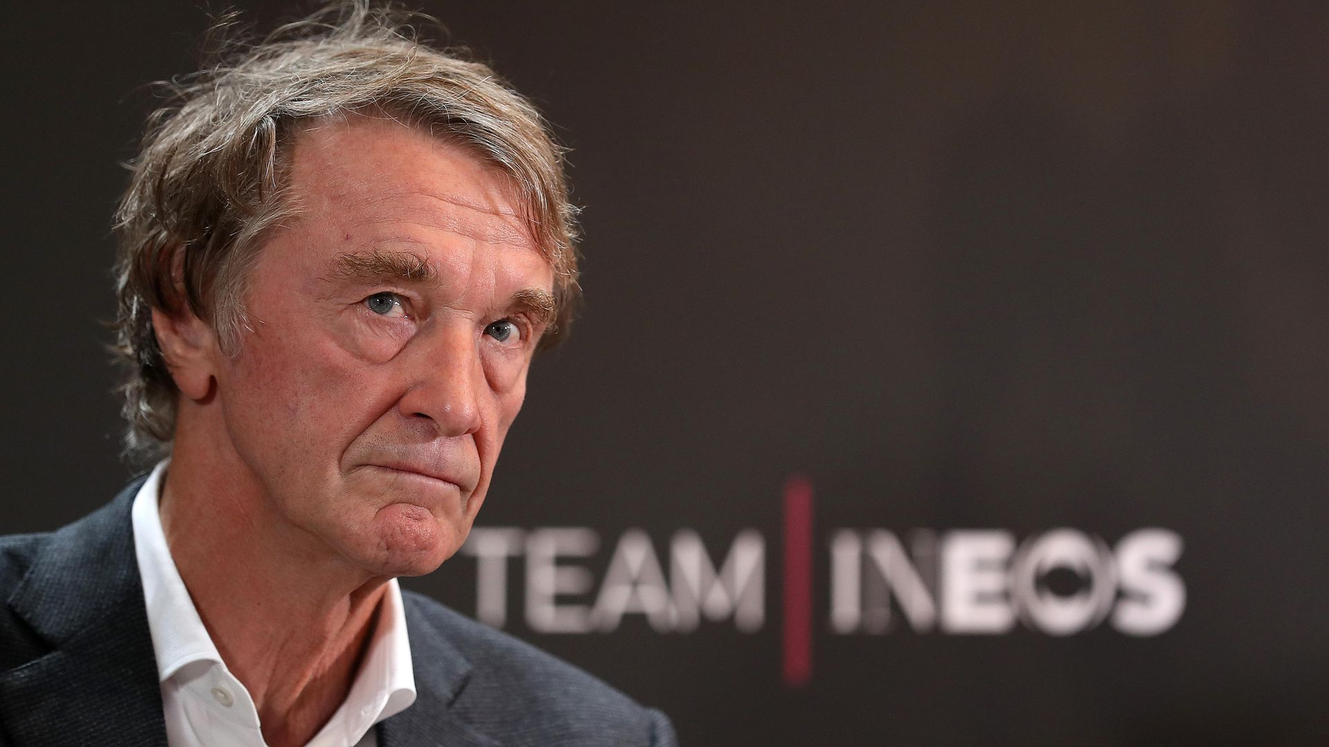Team INEOS Owner Sir Jim Ratcliffe during a press conference to launch Team INEOS at The Fountaine Free in Linton, Yorkshire - Credit: PA