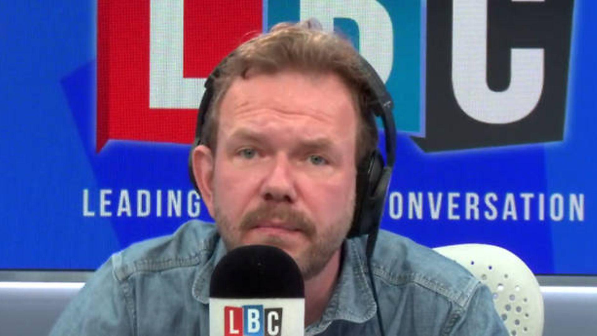 James O'Brien in the LBC Radio studio - Credit: LBC