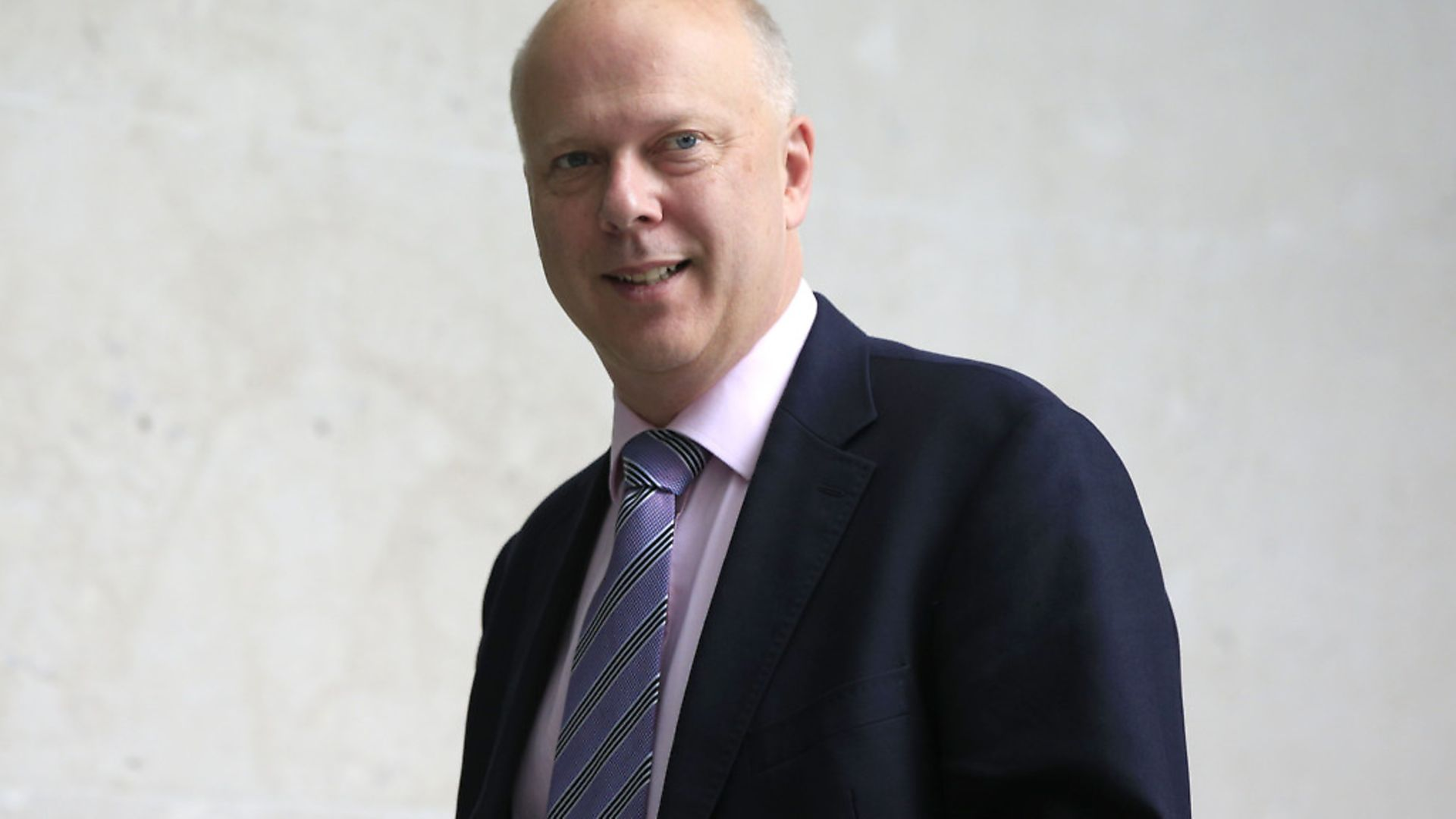 Former government minister and transport secretary Chris Grayling. Photograph: Jonathan Brady/PA. - Credit: PA Wire/PA Images