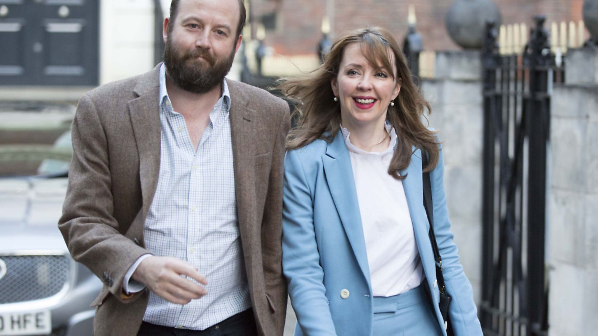 Theresa May's former chief of staff Nick Timothy and joint-chief of staff Fiona Hill after the 2017 general election. Photograph: Rick Findler/PA. - Credit: PA Archive/PA Images