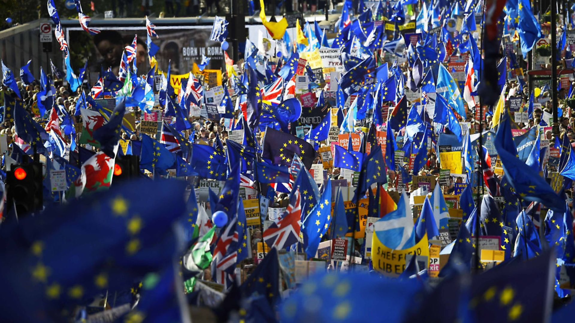 Campaigners fighting to stay in the EU. Picture: Peter Summers/Getty Images. - Credit: Getty Images
