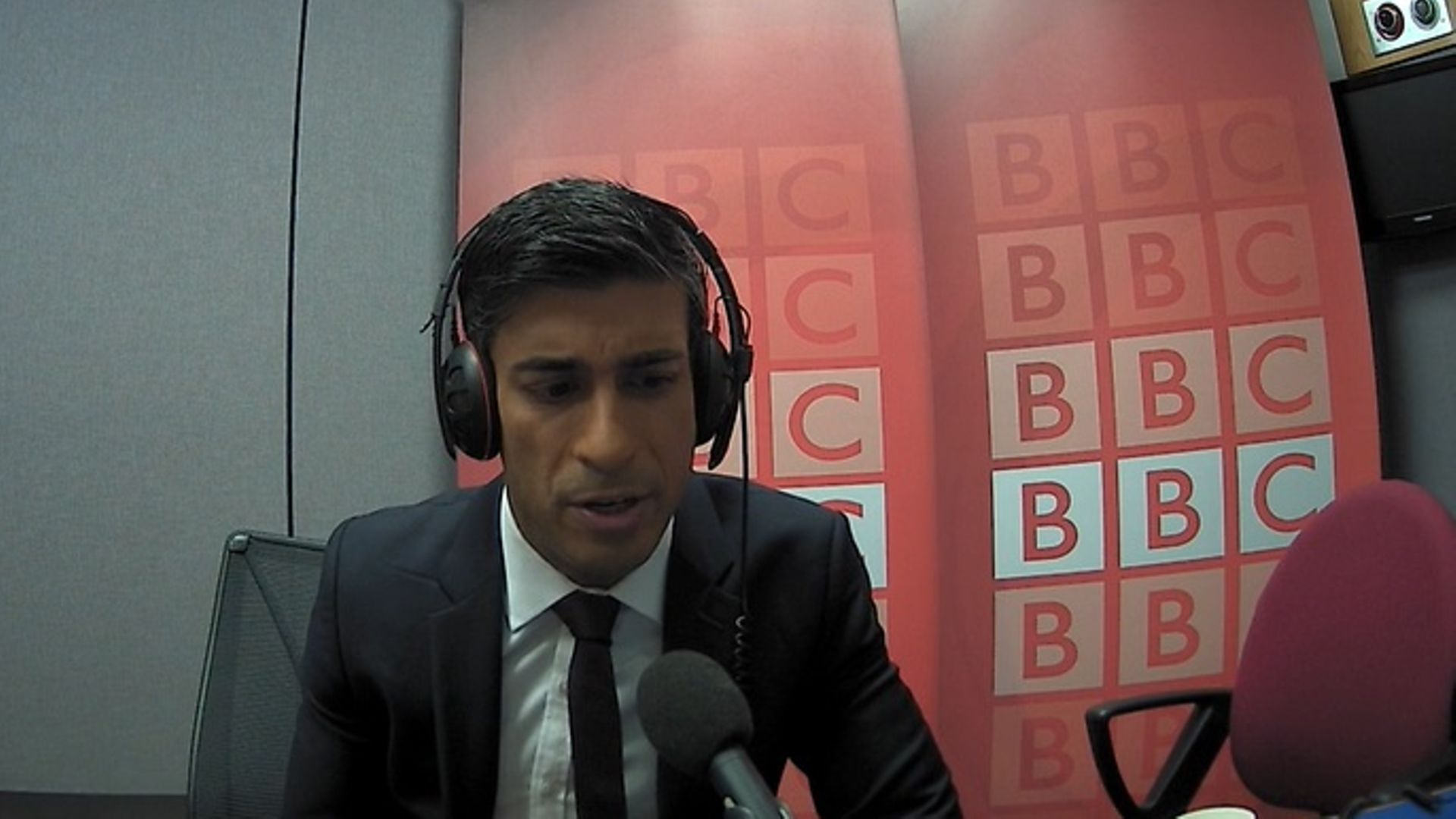 Rishi Sunak on the Today programme during the election campaign - Credit: BBC