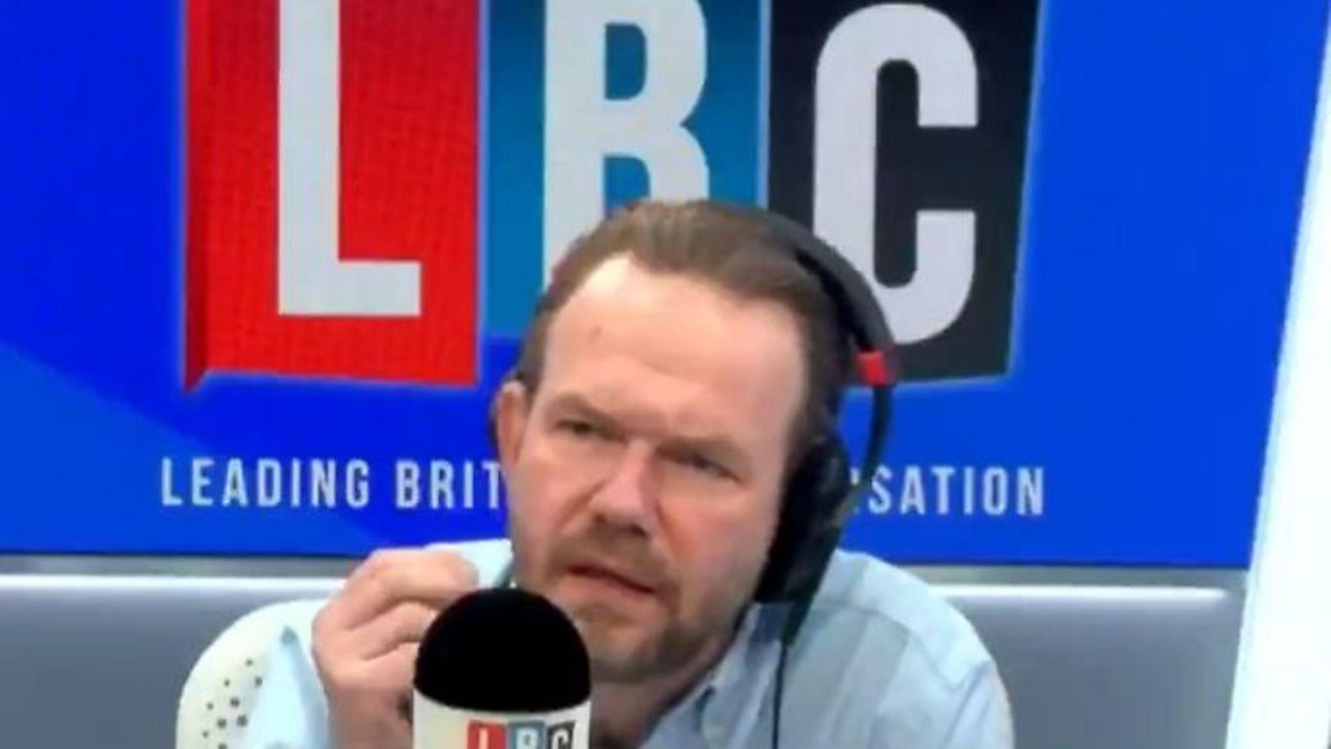 LBC presenter James O'Brien - Credit: Twitter