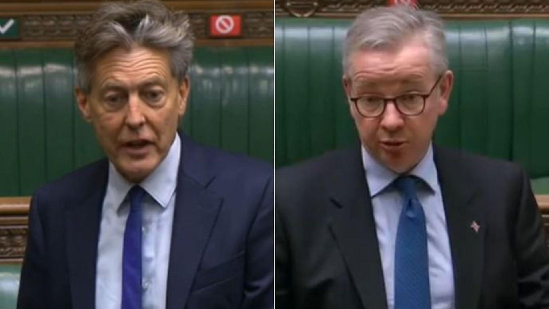 Ben Bradshaw questions Michael Gove on his Brexit comments - Credit: Parliament Live