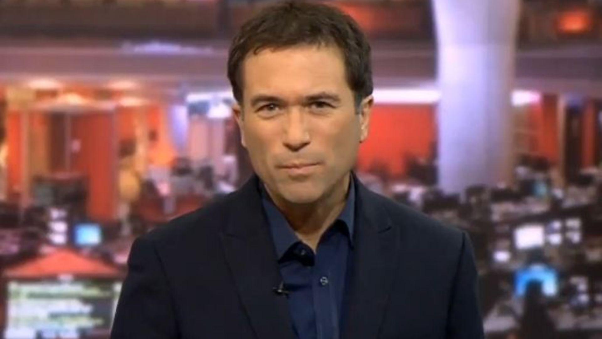 BBC presenter Ros Atkins - Credit: Twitter