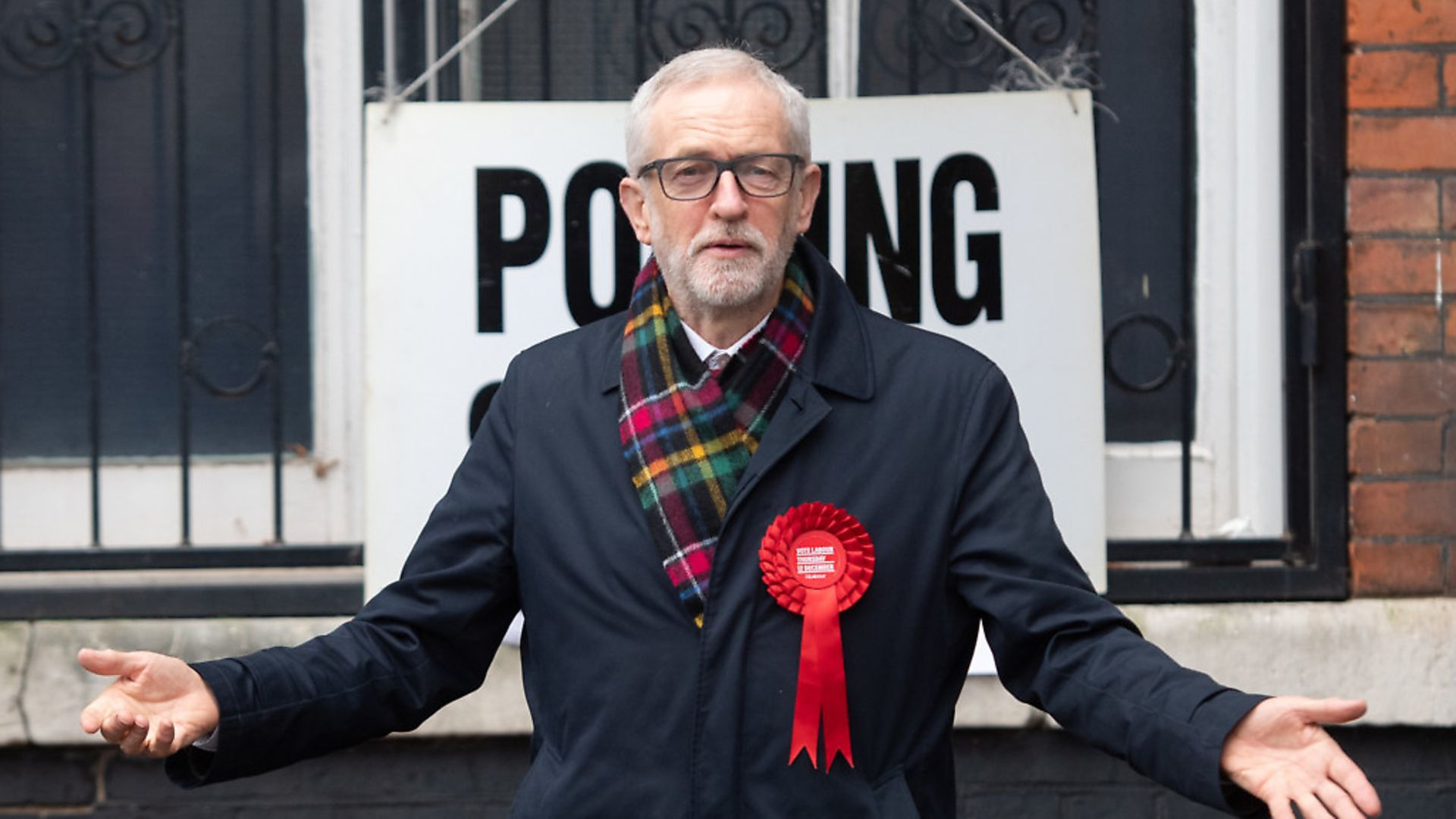 Labour leader Jeremy Corbyn after casting his vote in the 2019 General Election. Picture: Joe Giddens/ PA Wire - Credit: PA Wire/PA Images