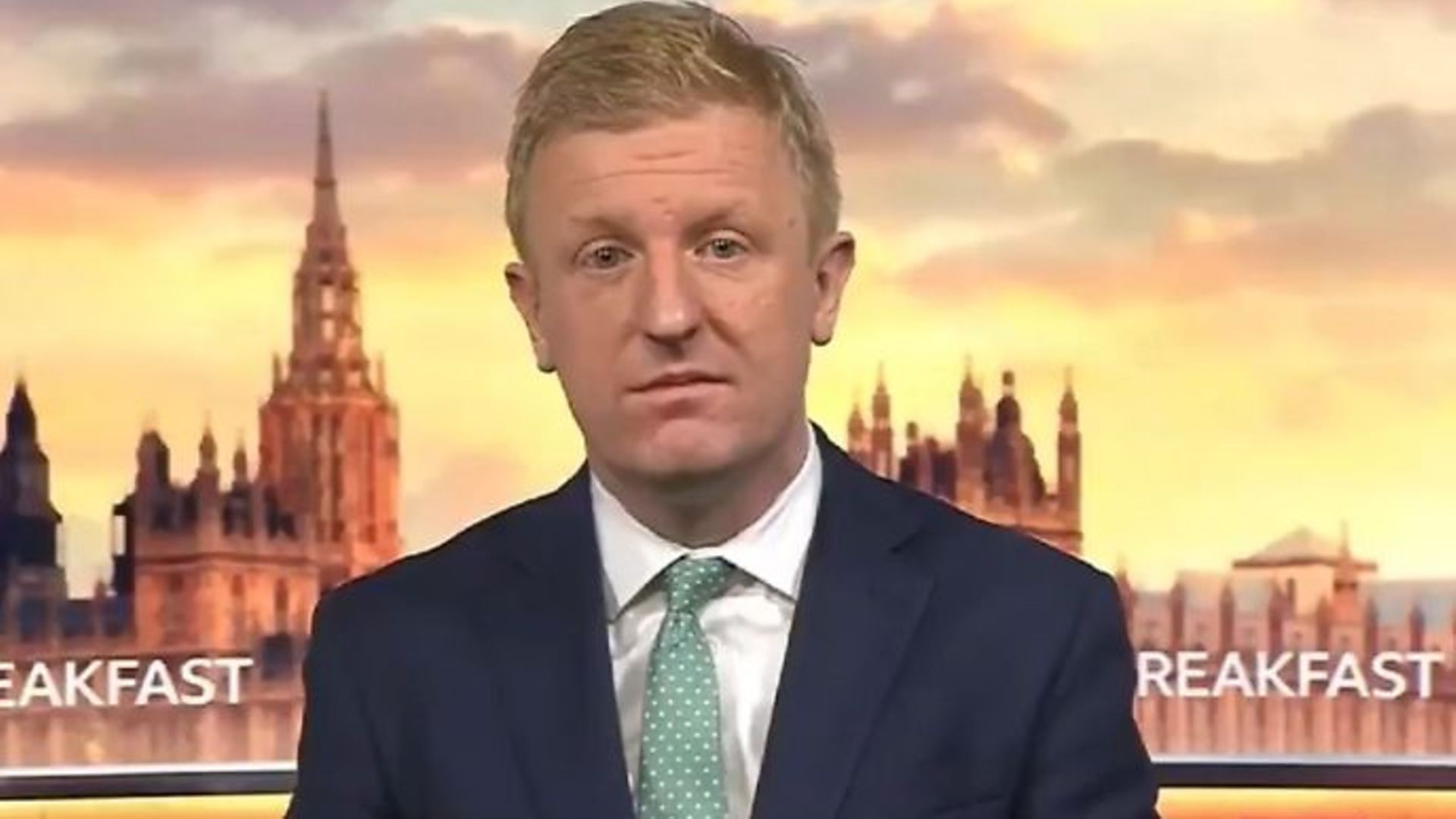 Oliver Dowden on BBC Breakfast - Credit: Twitter