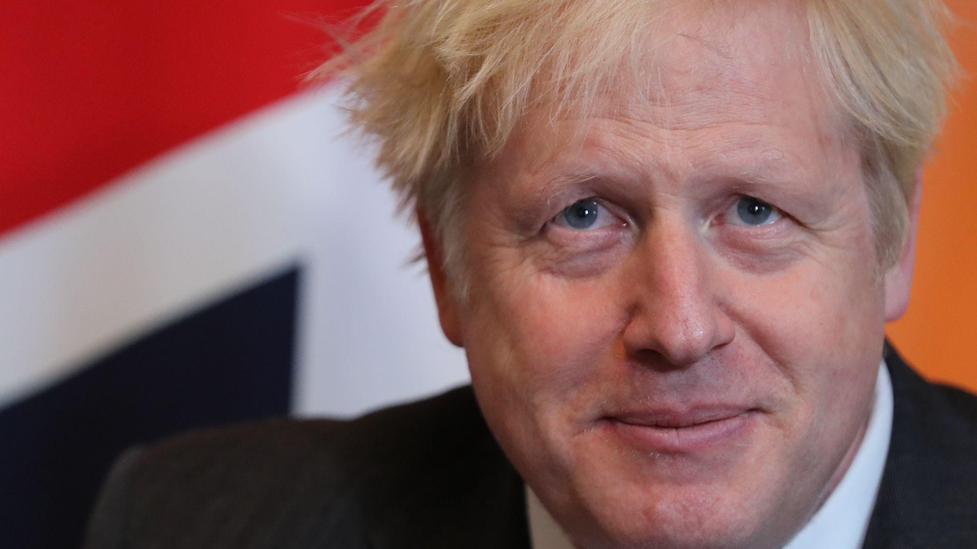 Prime Minister Boris Johnson in 10 Downing Street, London. - Credit: PA