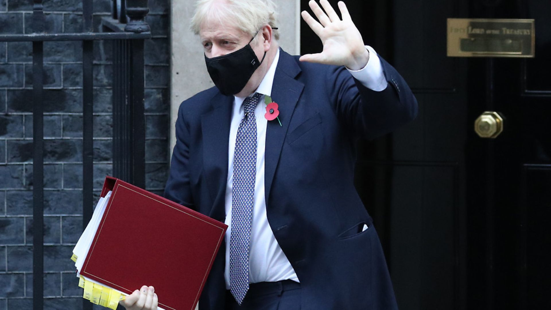 Prime Minister Boris Johnson leaves 10 Downing Street to go to the Houses of Parliament, London. Picture: Jonathan Brady/PA Wire - Credit: PA