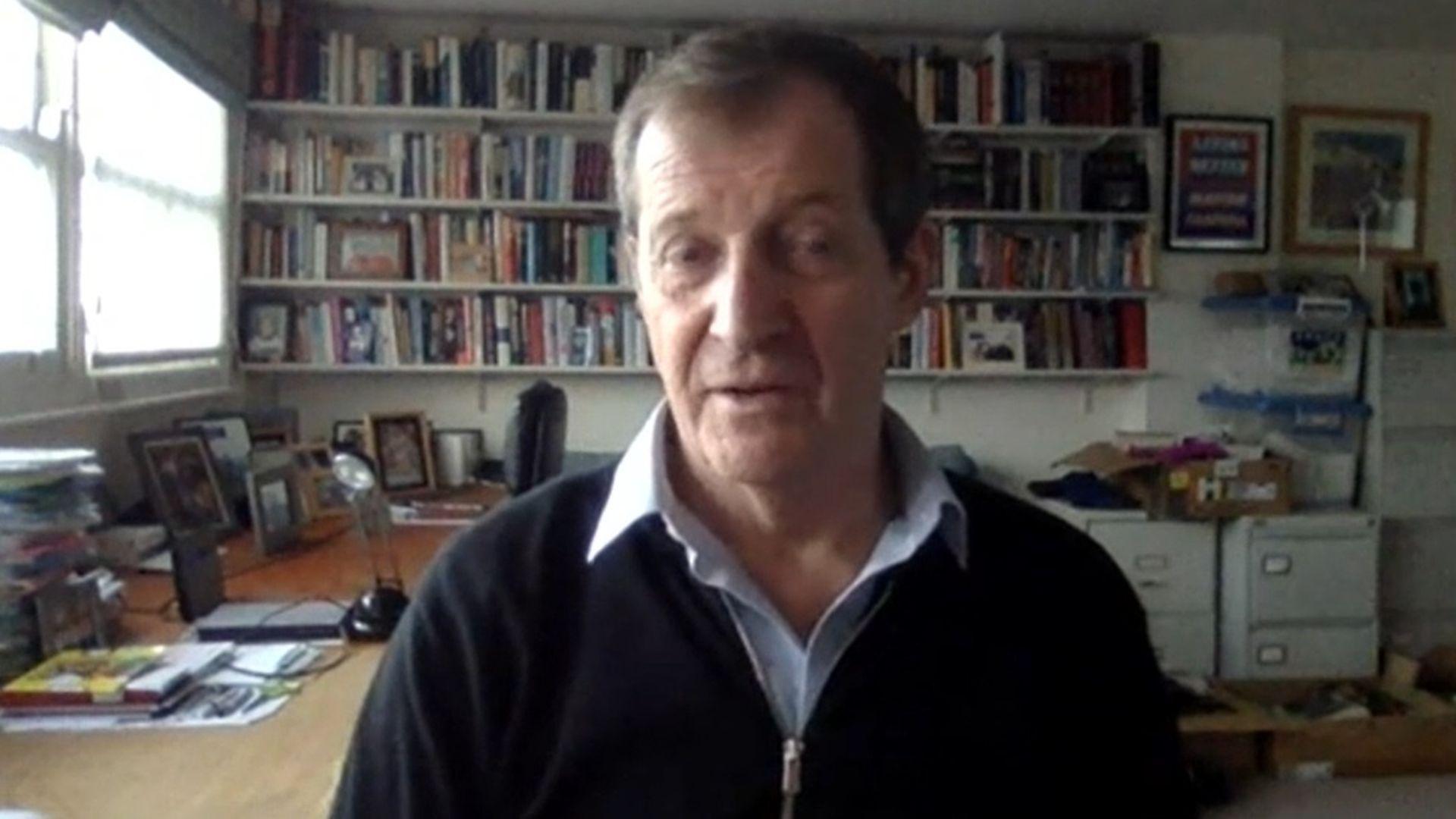 Alastair Campbell on Politics Live - Credit: BBC