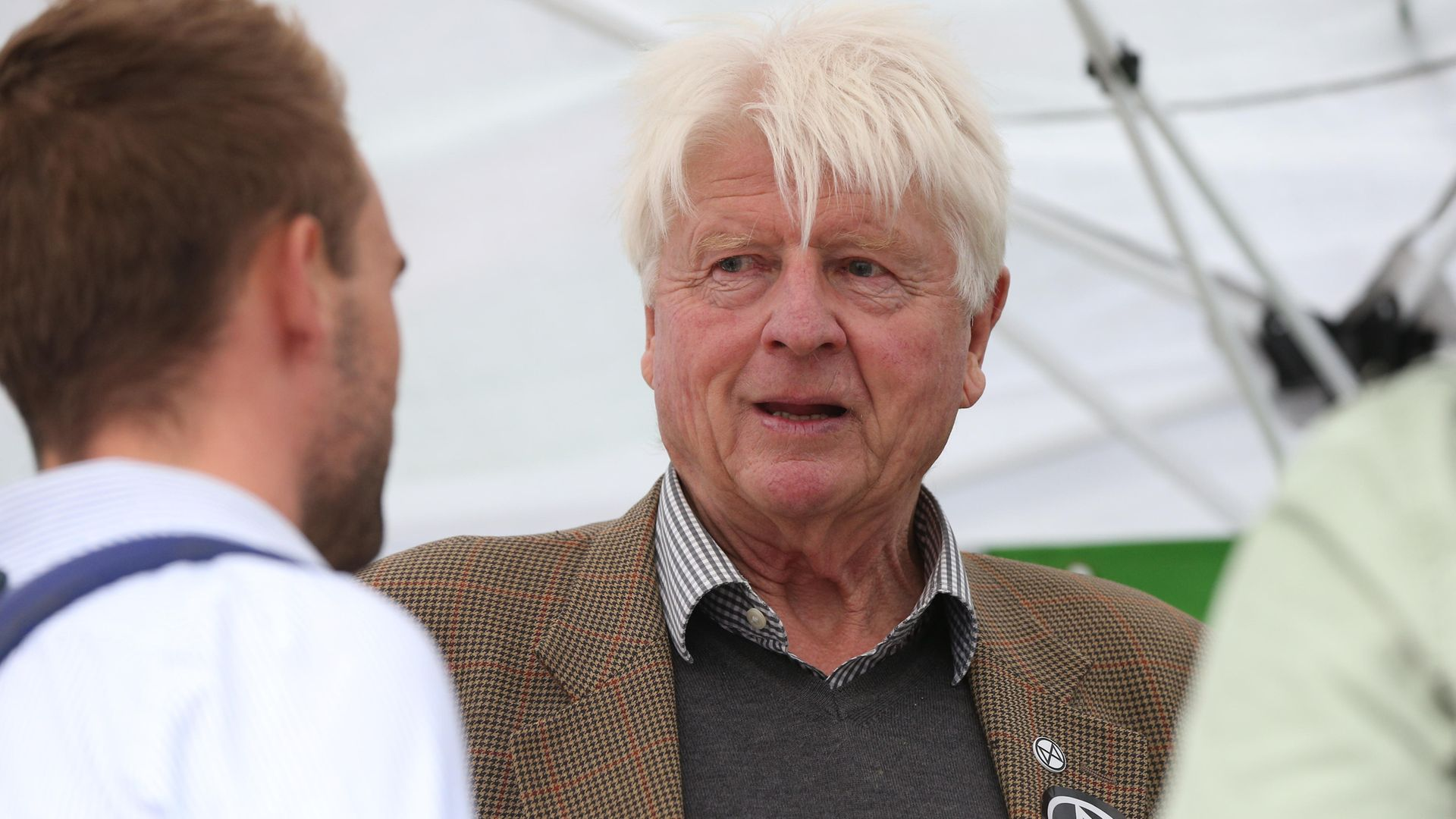 Stanley Johnson in an archived picture - Credit: PA
