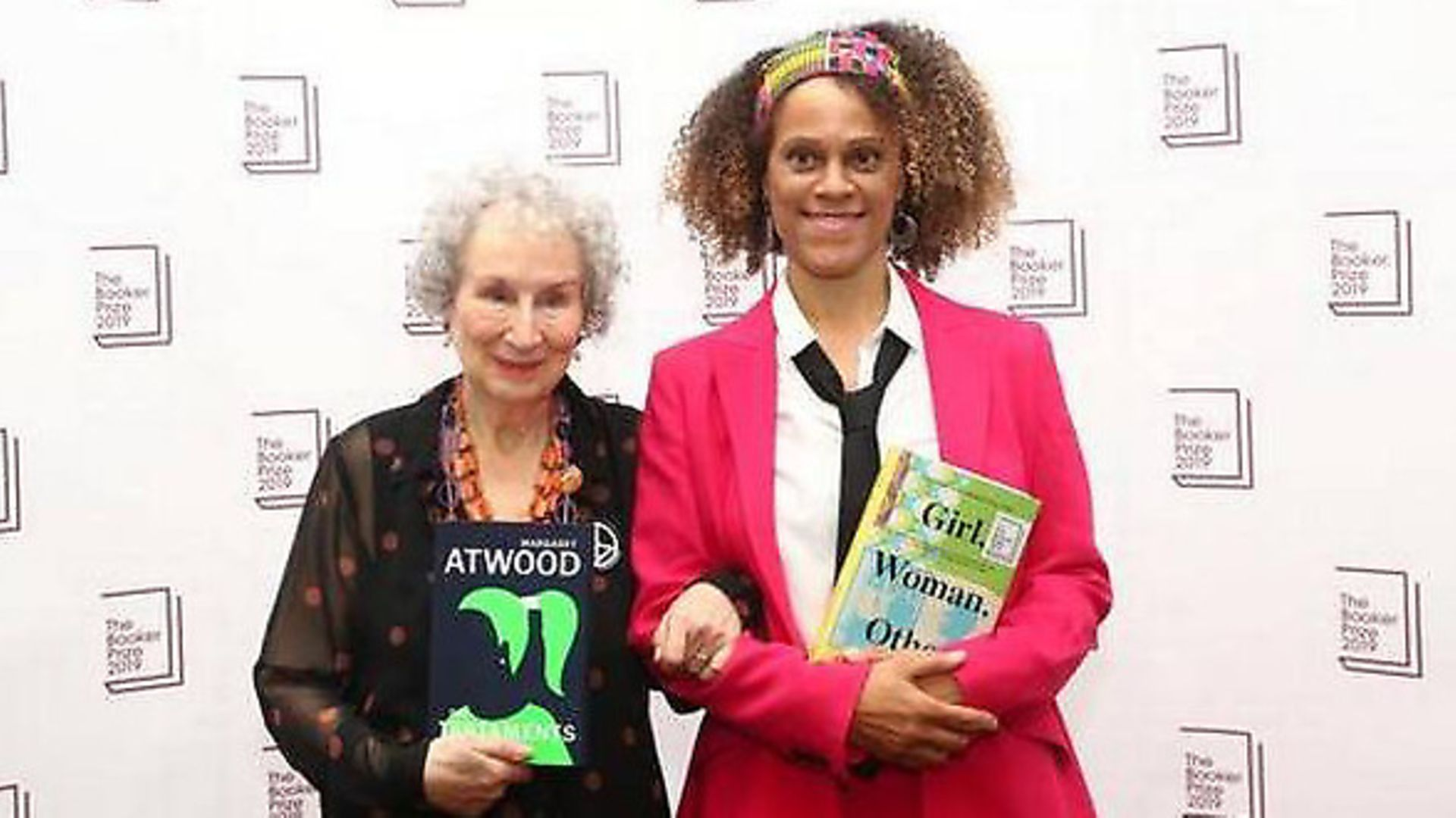 Booker Prize winners Margaret Atwood and Bernardine Evaristo. Picture: Getty Images - Credit: Archant