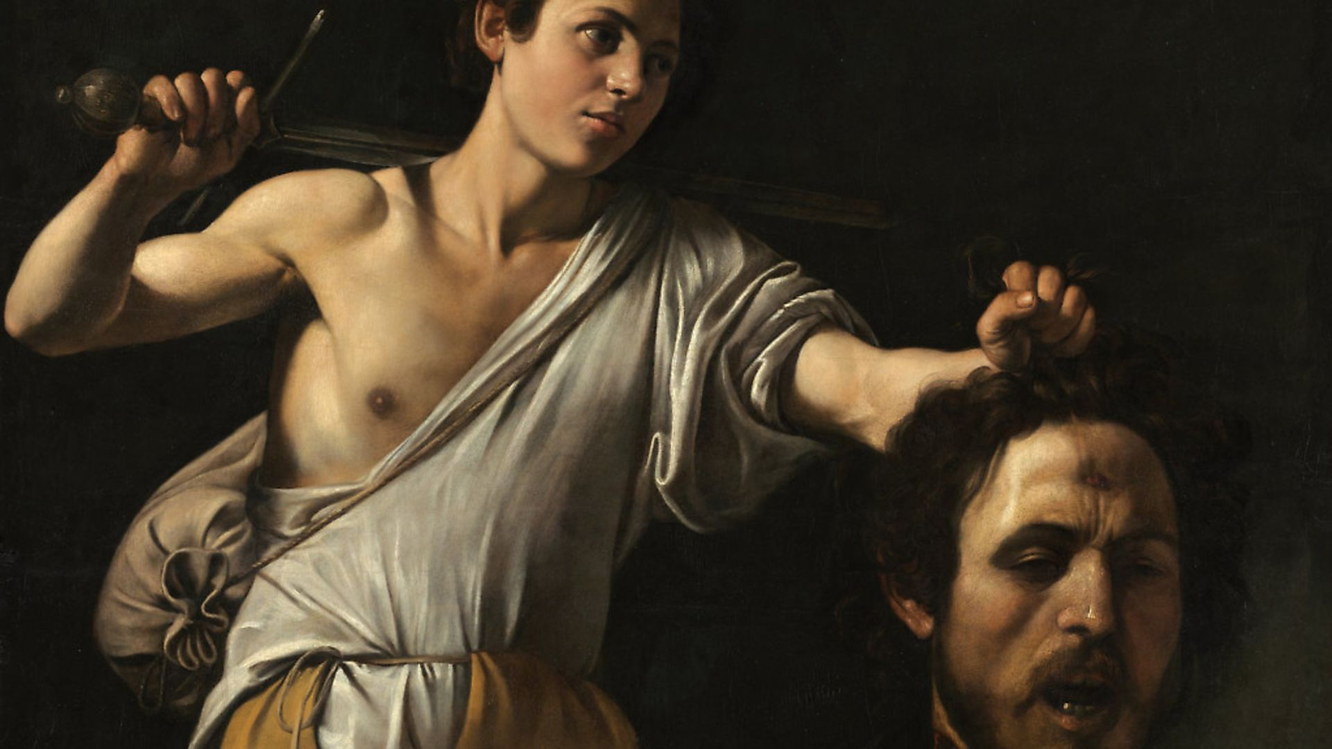 Michelangelo Merisi da Caravaggio, David with the Head of Goliath. Picture: KHM-Museumsverband - Credit: Archant