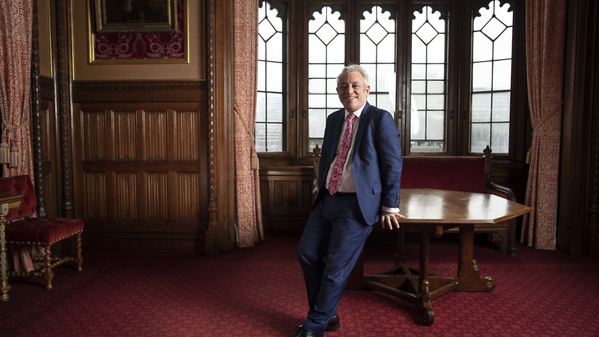 John Bercow MP poses for a portrait inside the House of Commons. (Photo by Dan Kitwood/Getty Images) - Credit: Getty Images