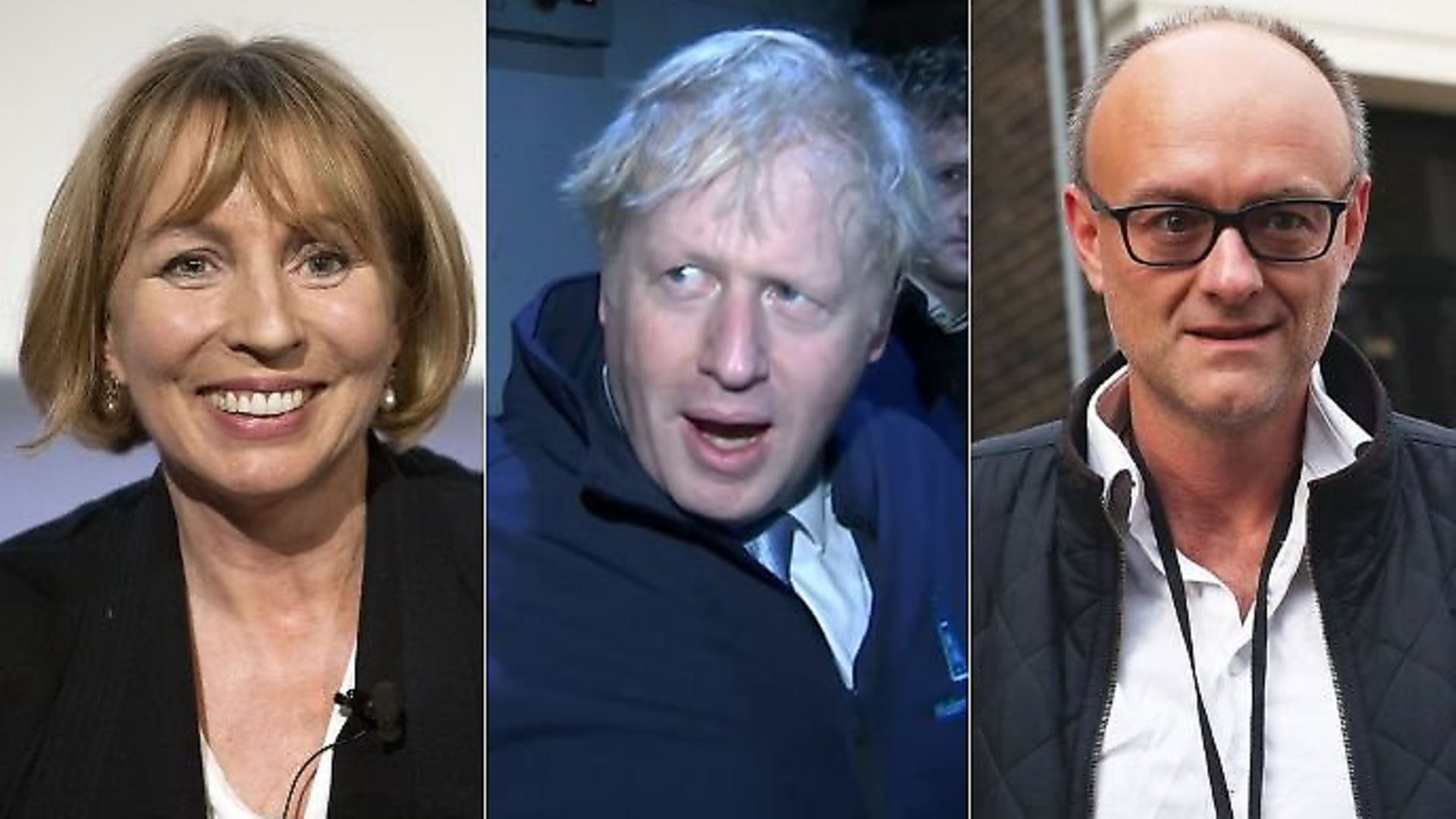 Sarah Sands, Boris Johnson and Dominic Cummings all feature in this week's Mandrake. Photograph: TNE. - Credit: Archant