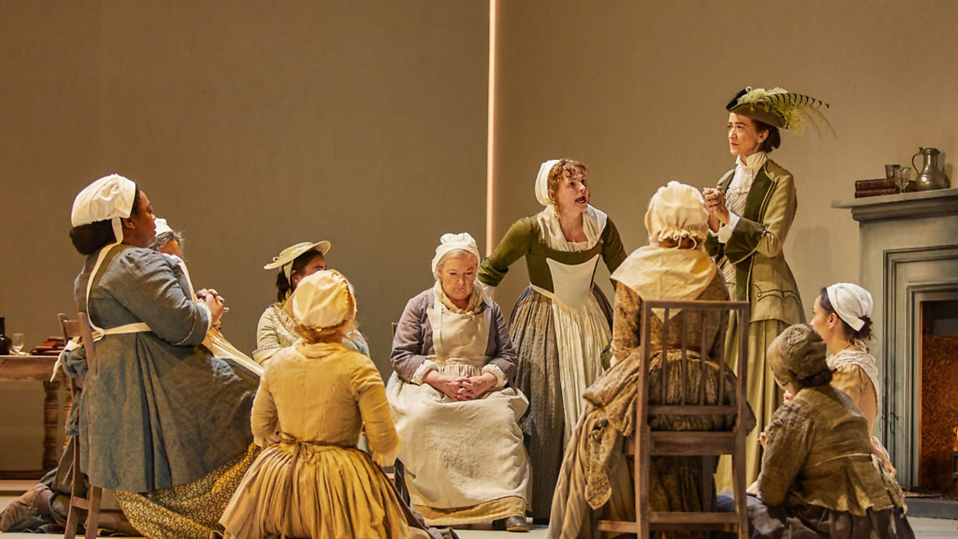 The Welkin is a new play by Lucy Kirkwood  . Photograph: Supplied. - Credit: Brinkhoff-Moegenburg