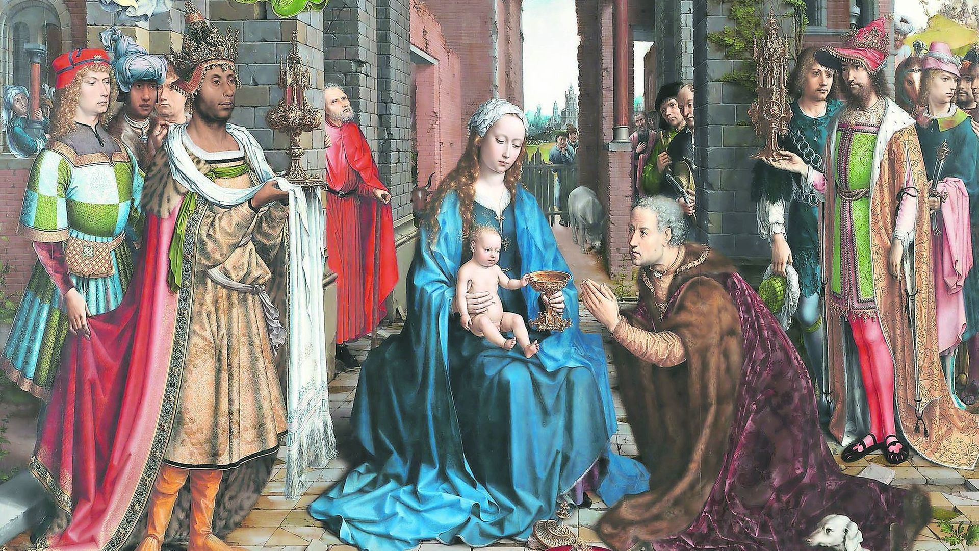 Masterpiece: Jan Gossaert's The Adoration of the Kings, c1510. - Credit: The National Gallery, London