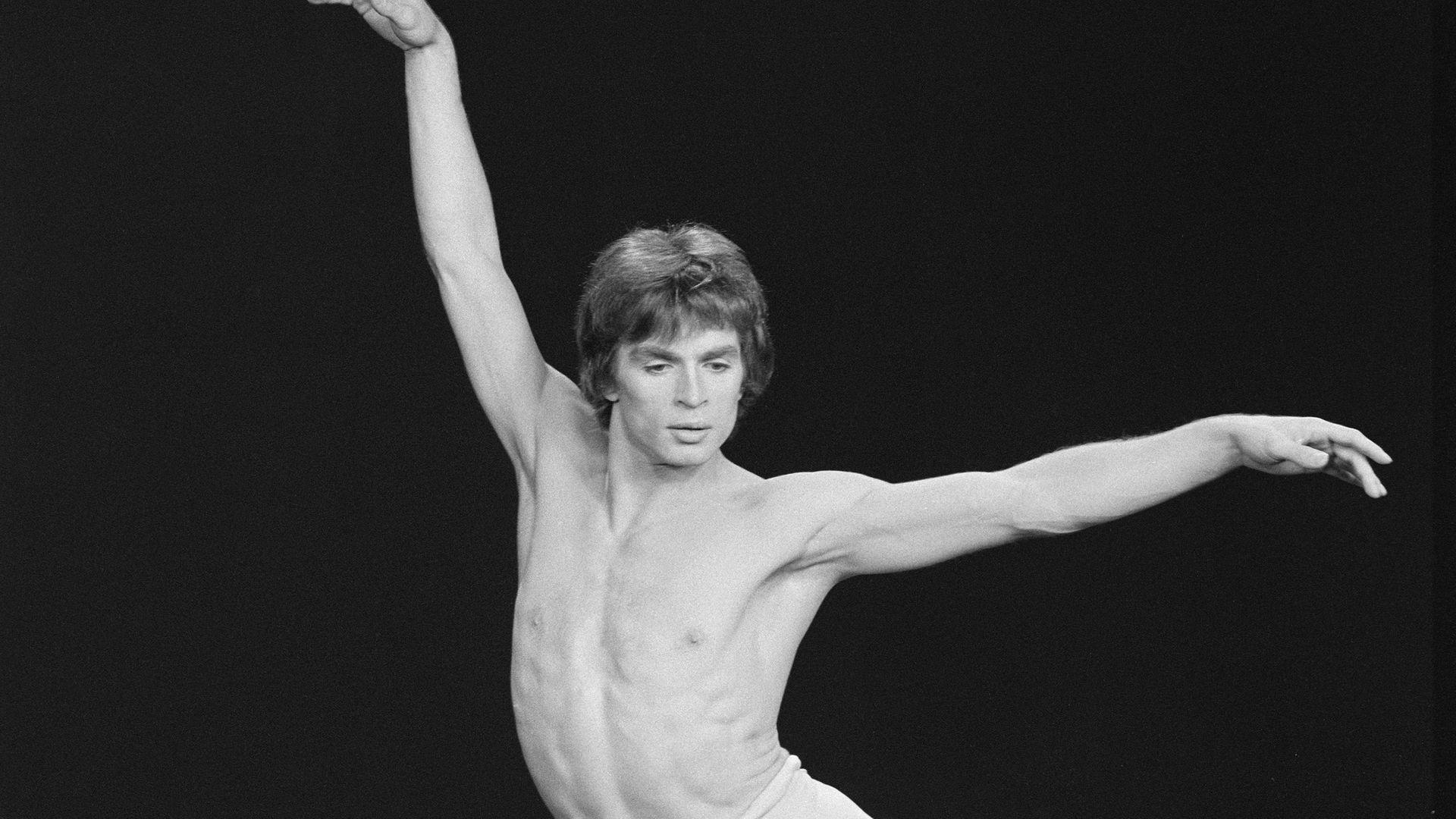 The dancer Rudolf Nureyev - Credit: INA via Getty Images