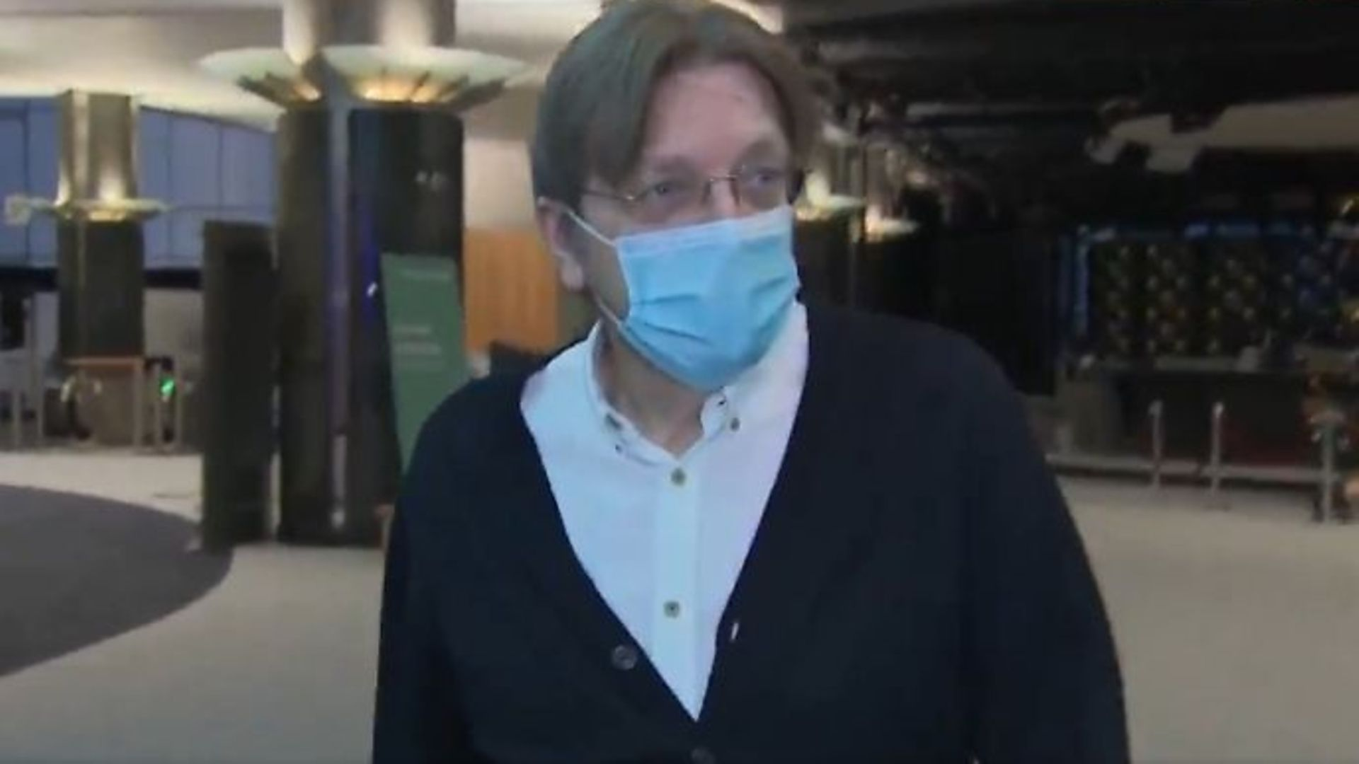 Leading EU MEP Guy Verhofstadt in Brussels - Credit: Twitter