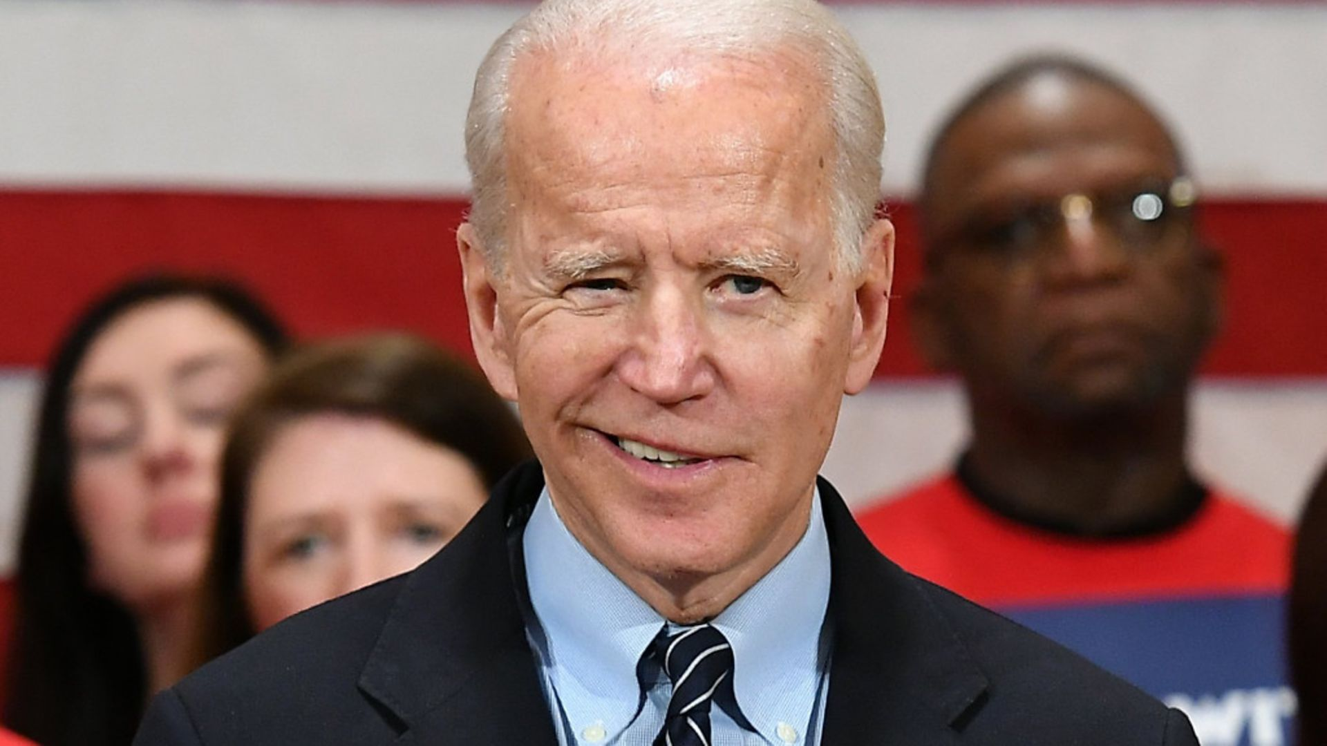 Joe Biden, who takes office this month - Credit: AFP via Getty Images