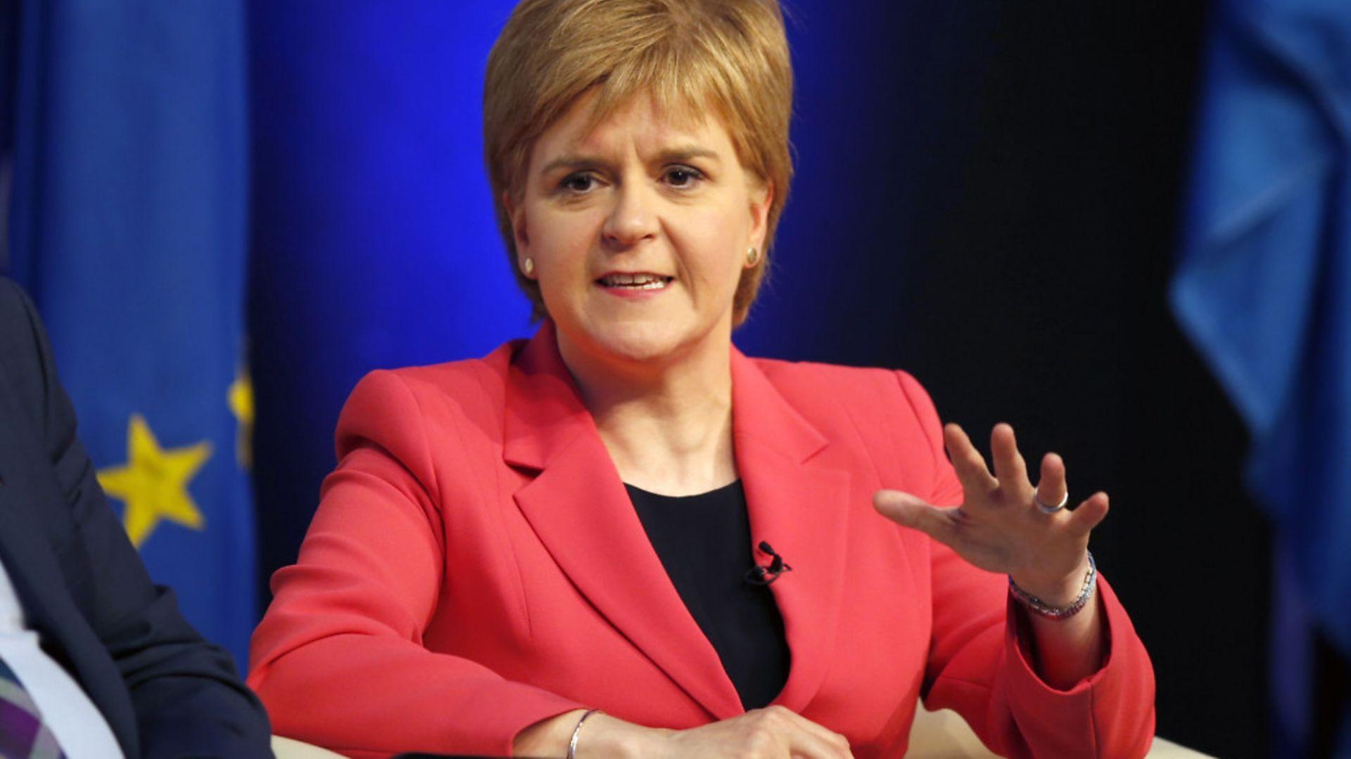 Nicola Sturgeon - Credit: PA Wire/PA Images