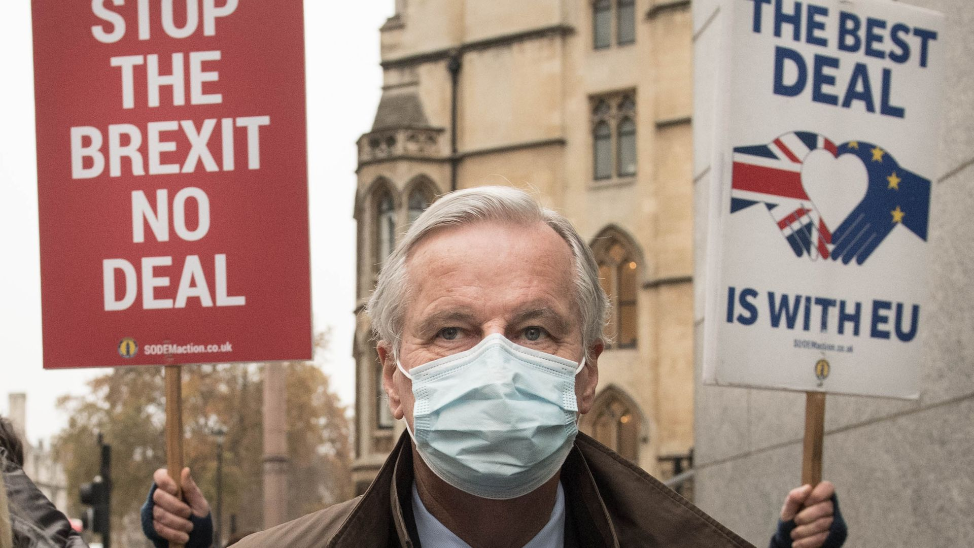 EU's chief Brexit negotiator Michel Barnier - Credit: PA