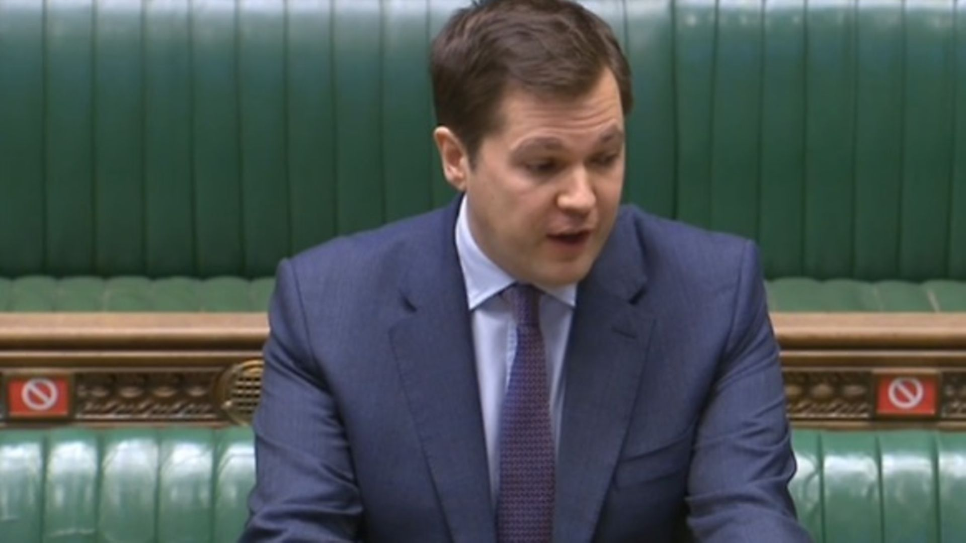 Robert Jenrick speaks in the House of Commons - Credit: Parliament Live