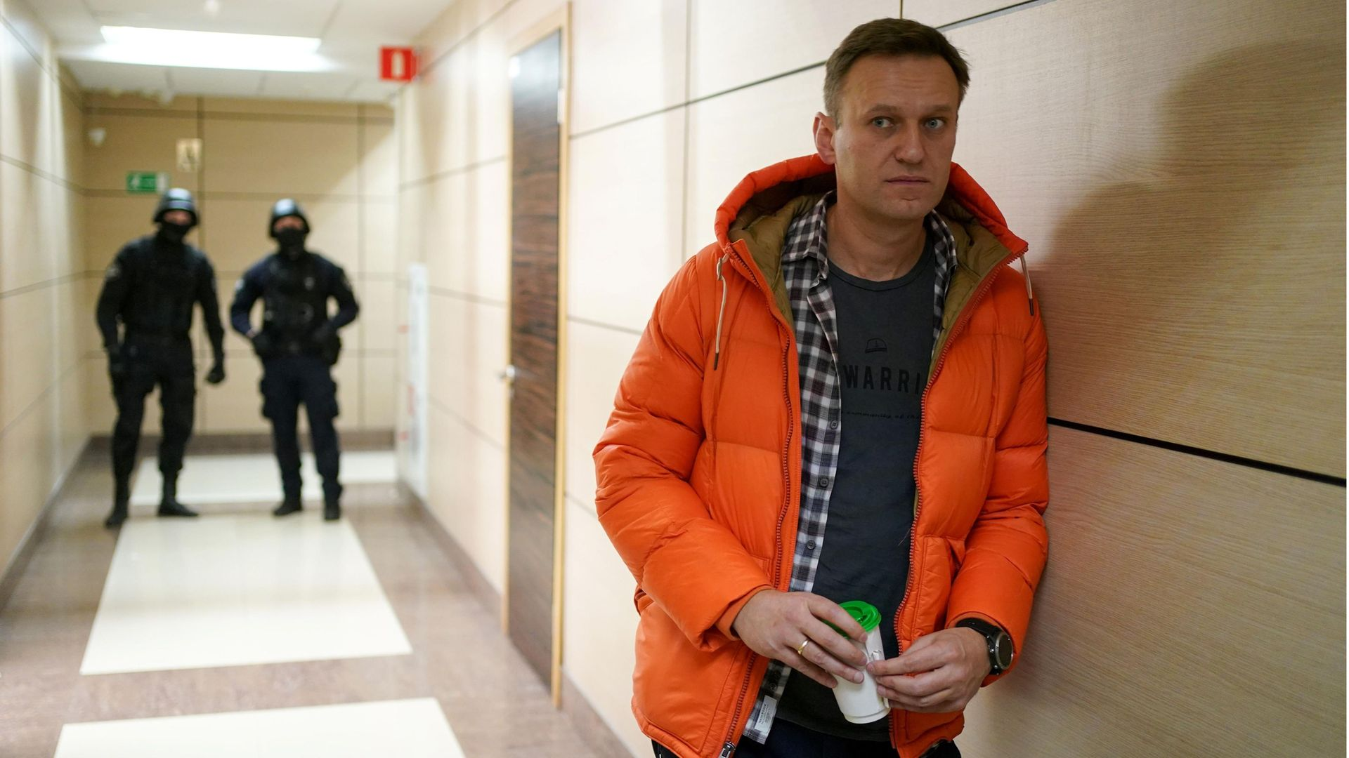 Russian opposition leader Alexei Navalny (question four) - Credit: AFP via Getty Images