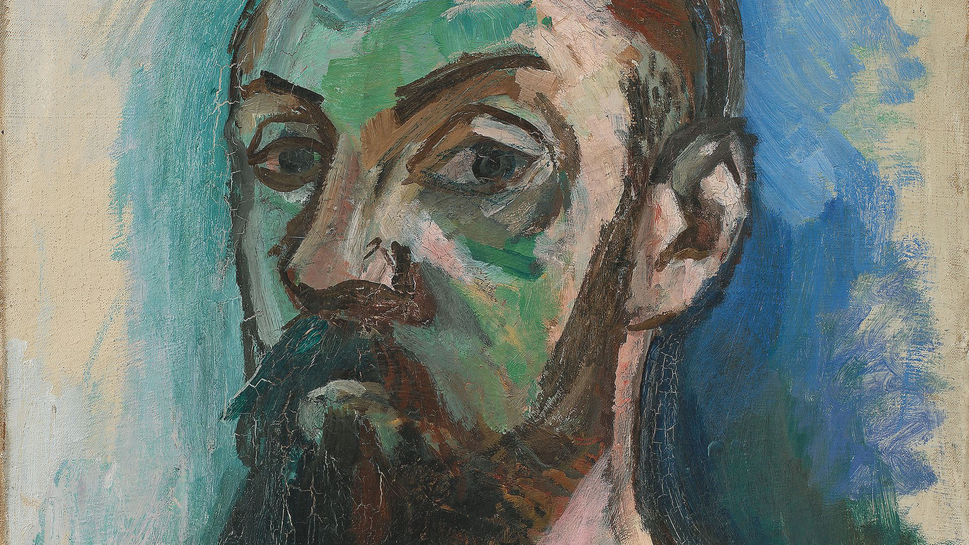 Matisse was labelled a Fauve - 'wild beast' - at the 1905 Salon d'Automne, where audiences were shocked by his non-naturalistic colours - Credit: Statens Museum for Kunst; the National Gallery of Denmark