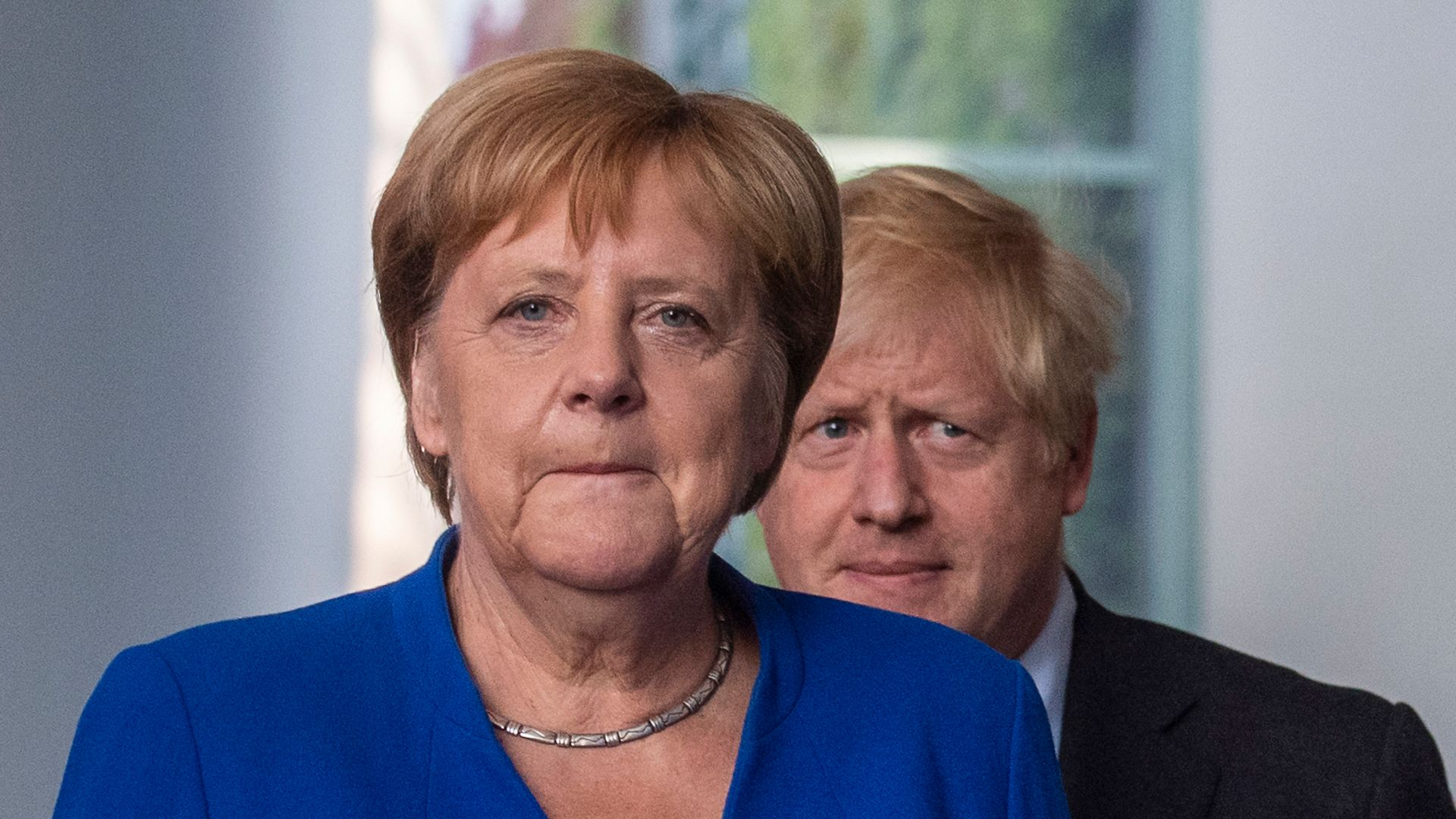 The worst is behind her: German chancellor Angela Merkel (question three) - Credit: JOHN MACDOUGALL/AFP via Getty Images