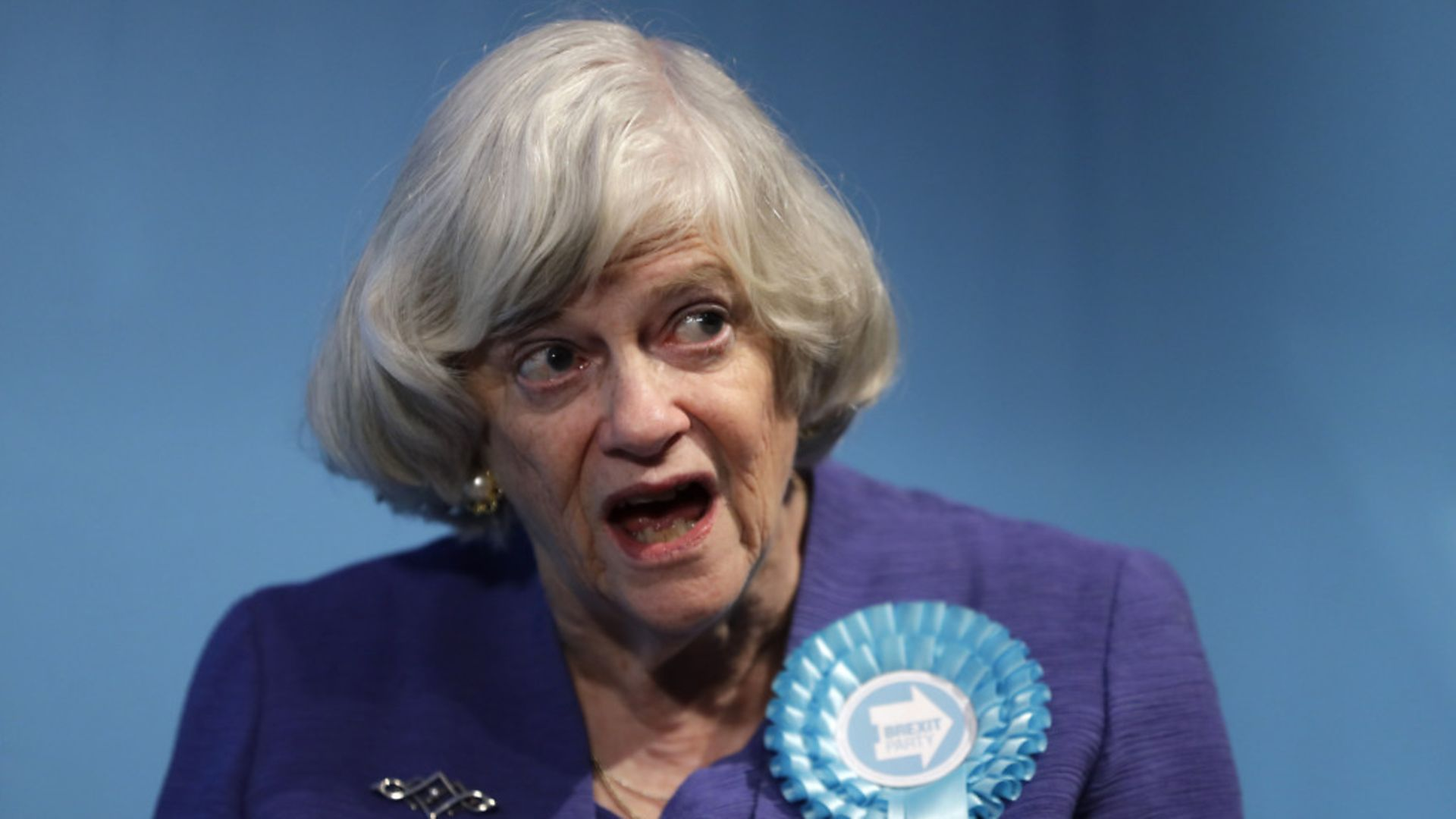 Ann Widdecombe, former Brexit Party member and former member of parliament for the Conservative Party - Credit: AP