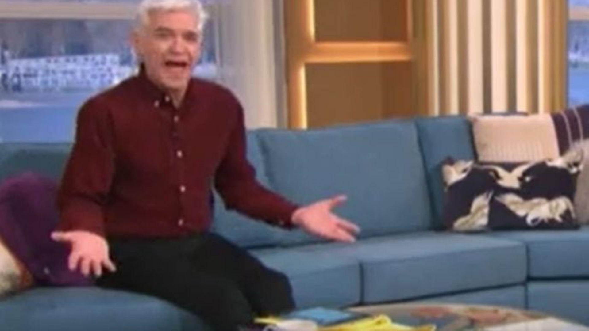 Phillip Schofield on ITV's This Morning - Credit: ITV