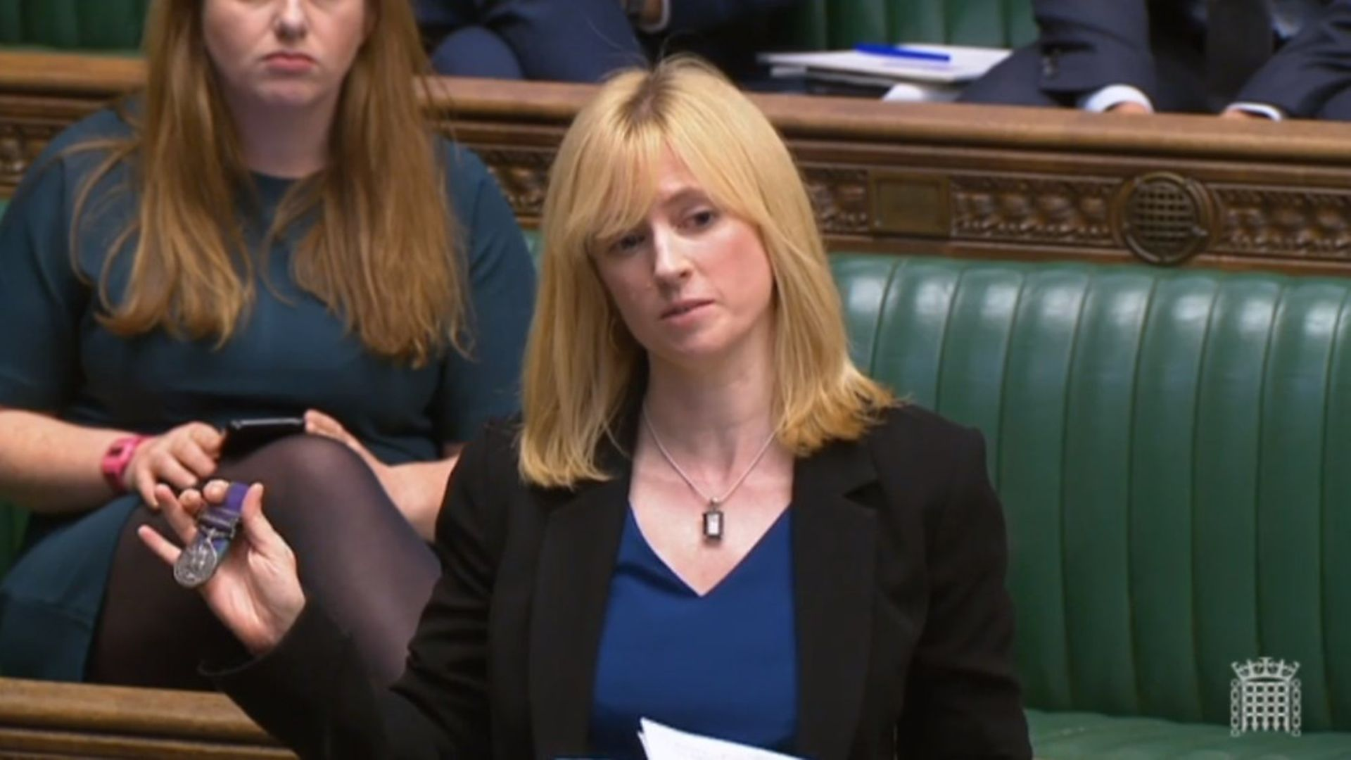 Labour MP for Canterbury, Rosie Duffield, previously in the House of Commons - Credit: PA Archive/PA Images