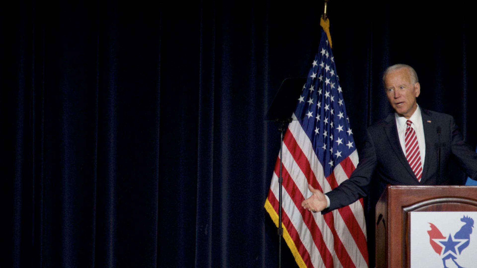 Joe Biden - Credit: NurPhoto via Getty Images