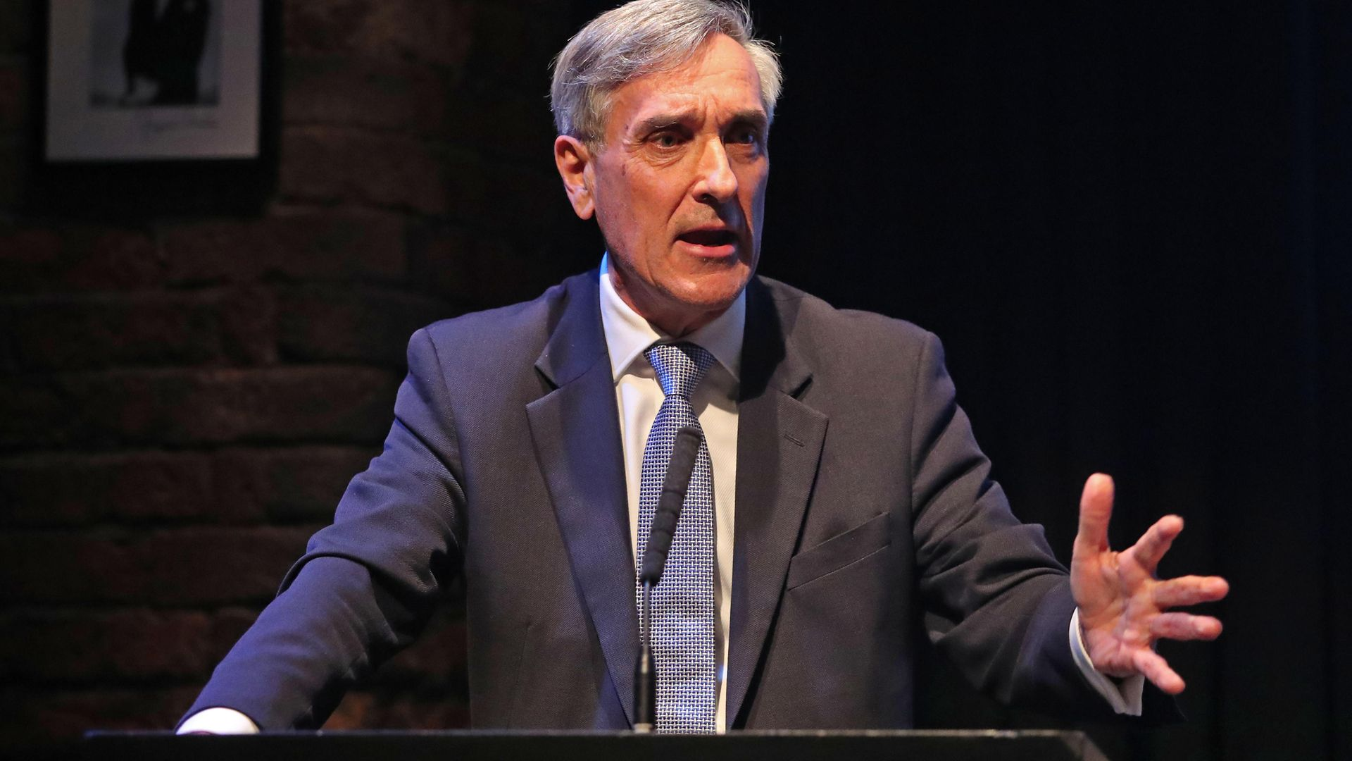 Sir John Redwood MP at the Conservative Party Conference at the Manchester Convention Centre. - Credit: PA