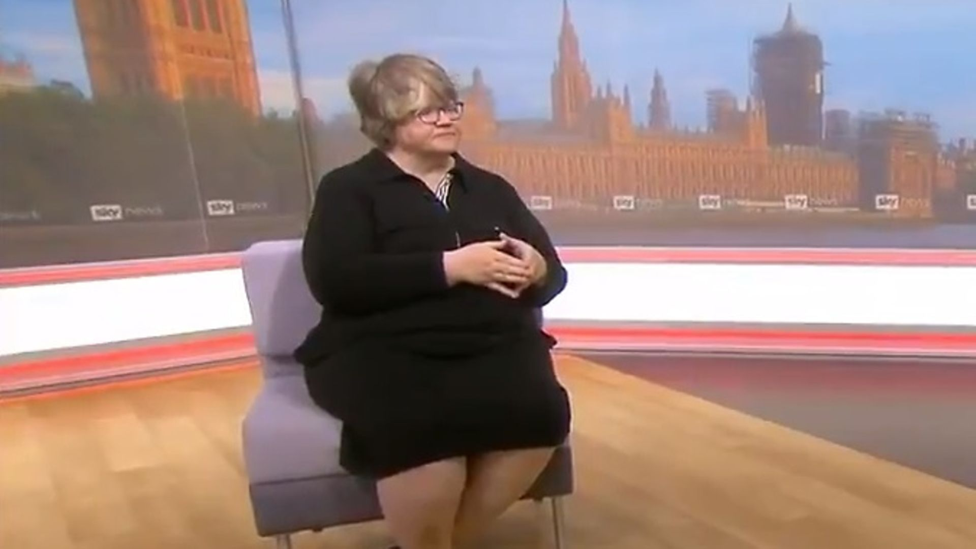 Therese Coffey - Credit: Sky News