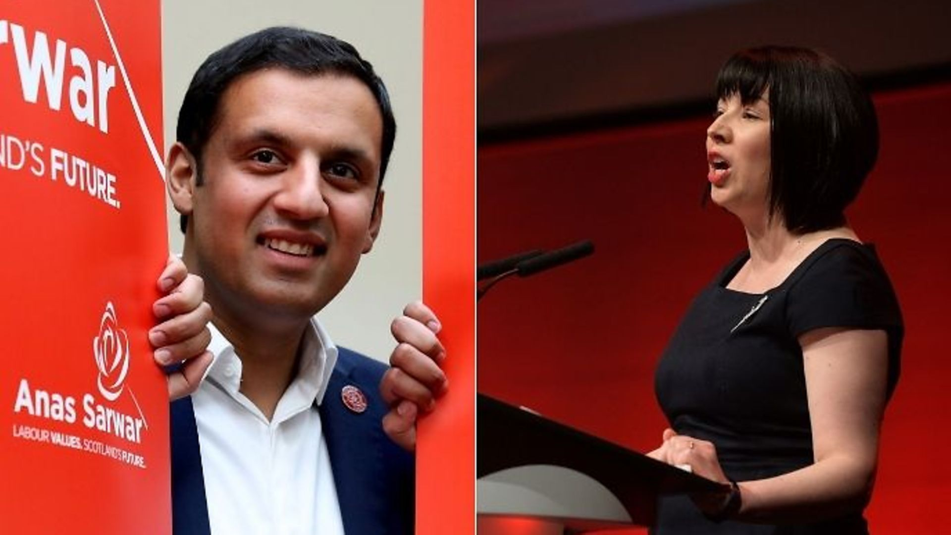 Anas Sarwar and Monica Lennon compete for Scottish Labour leadership - Credit: PA